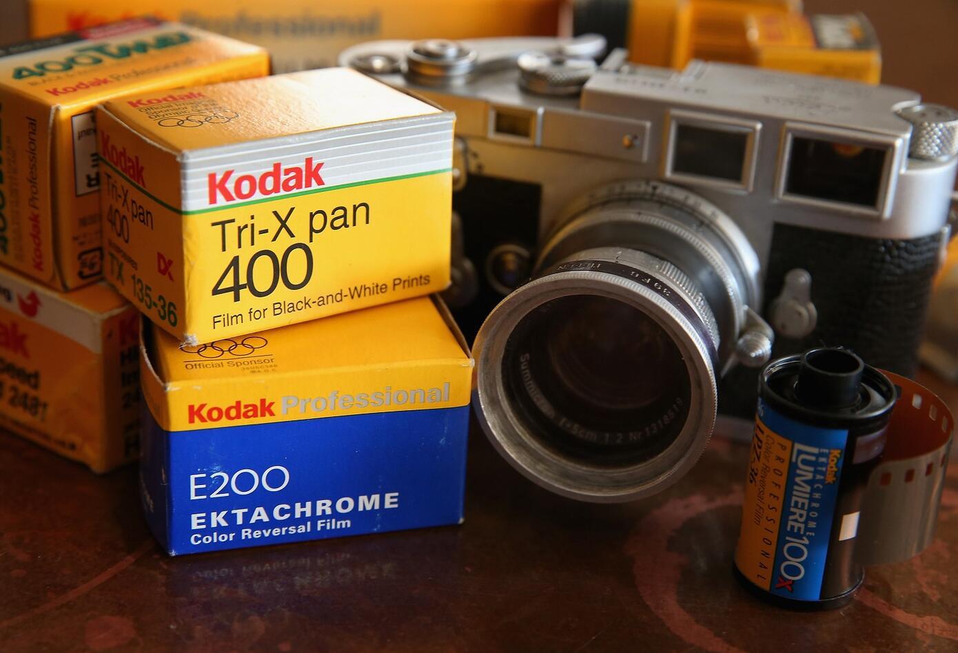 El negocio de Kodak consistió en revelar los rollos de sus clientes