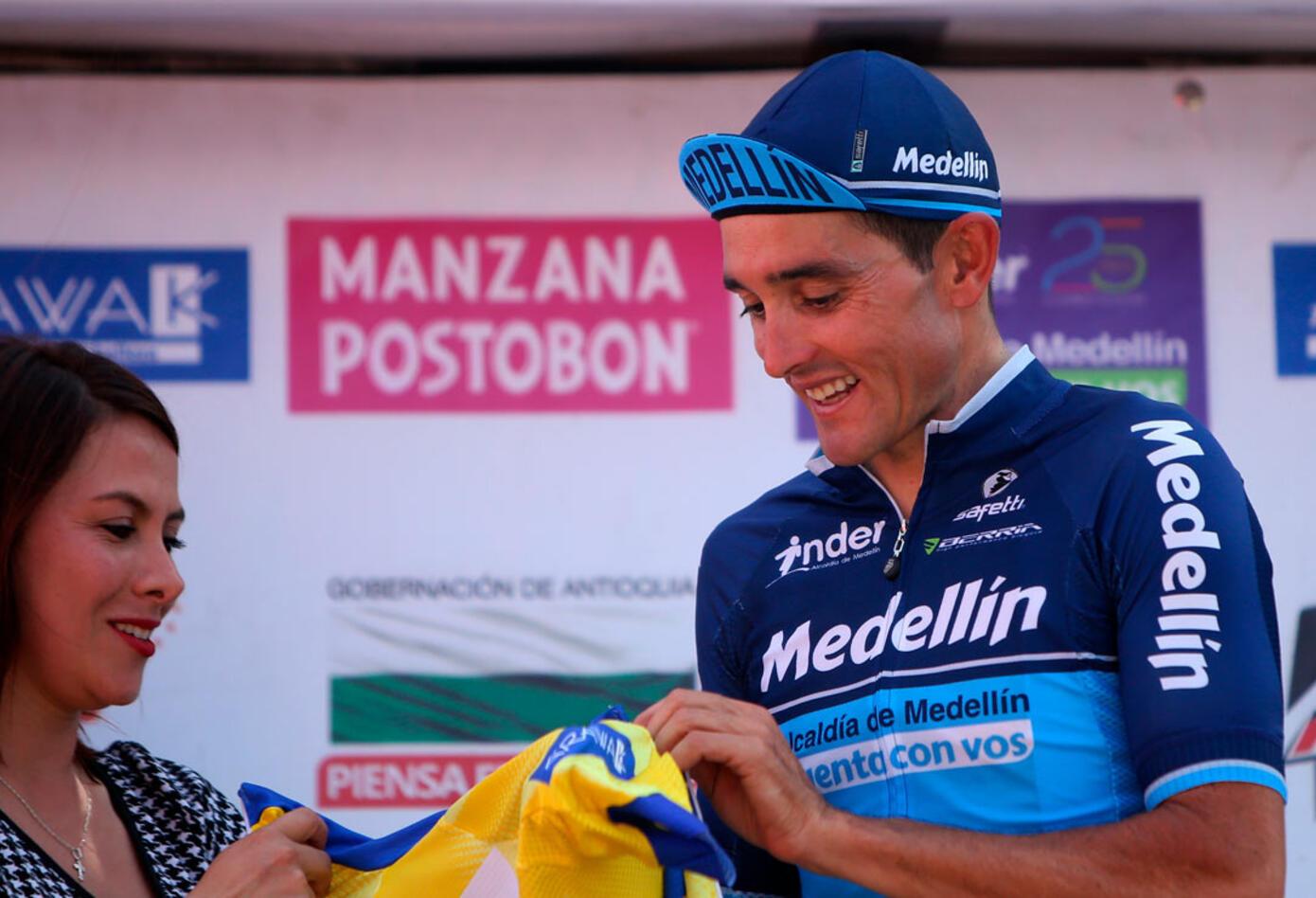 Óscar Sevilla, a 9 segundos de su escolta Fabio Duarte (Manzana Postobón)