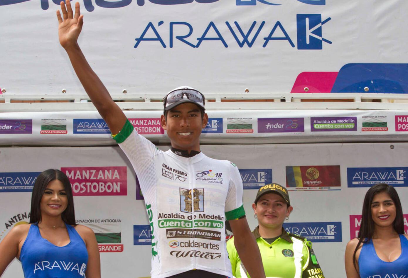 El Aguardiente Antioqueño Idea obtuvo el triunfo de la etapa en las piernas de Jaime Castañeda