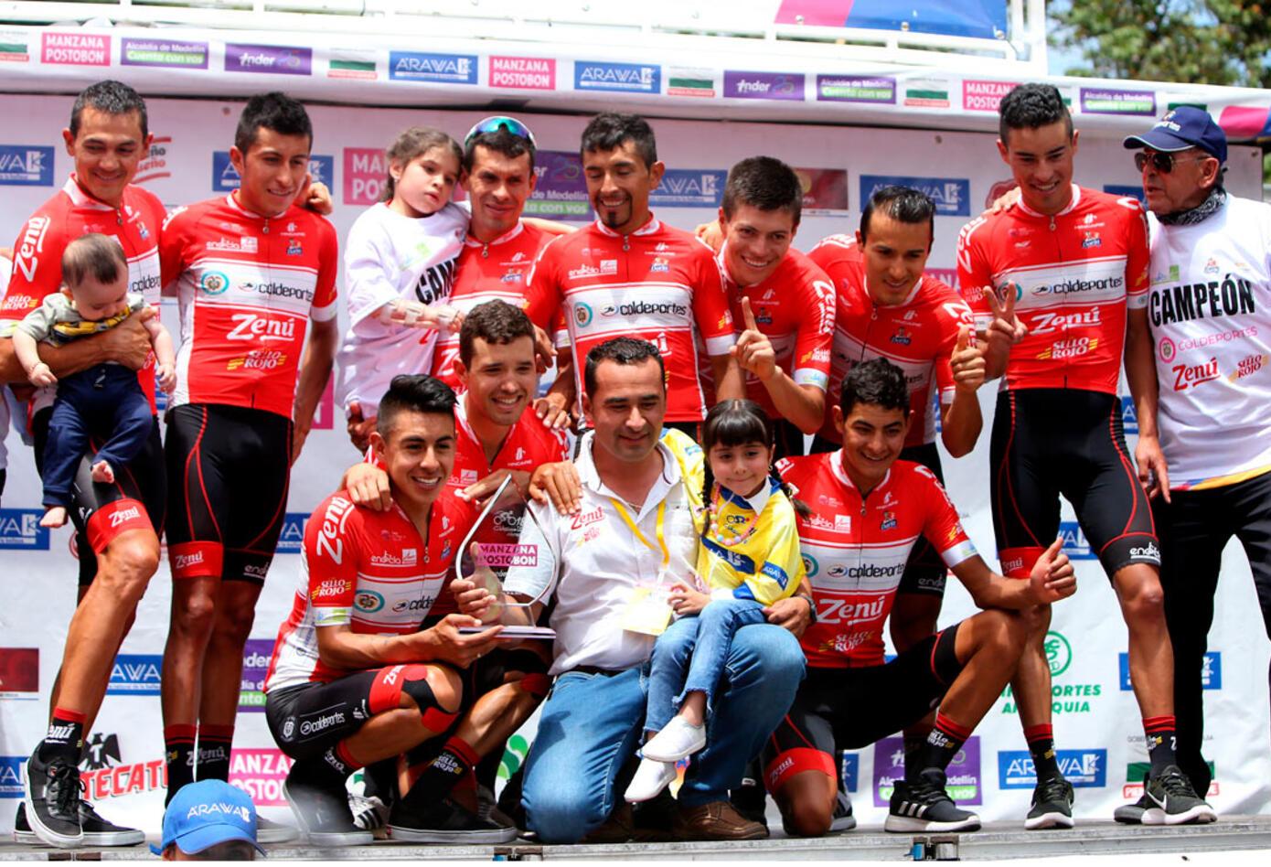 Coldeportes Zenú fue el gran ganador en el 'Top 10' de la general en el Clásico RCN