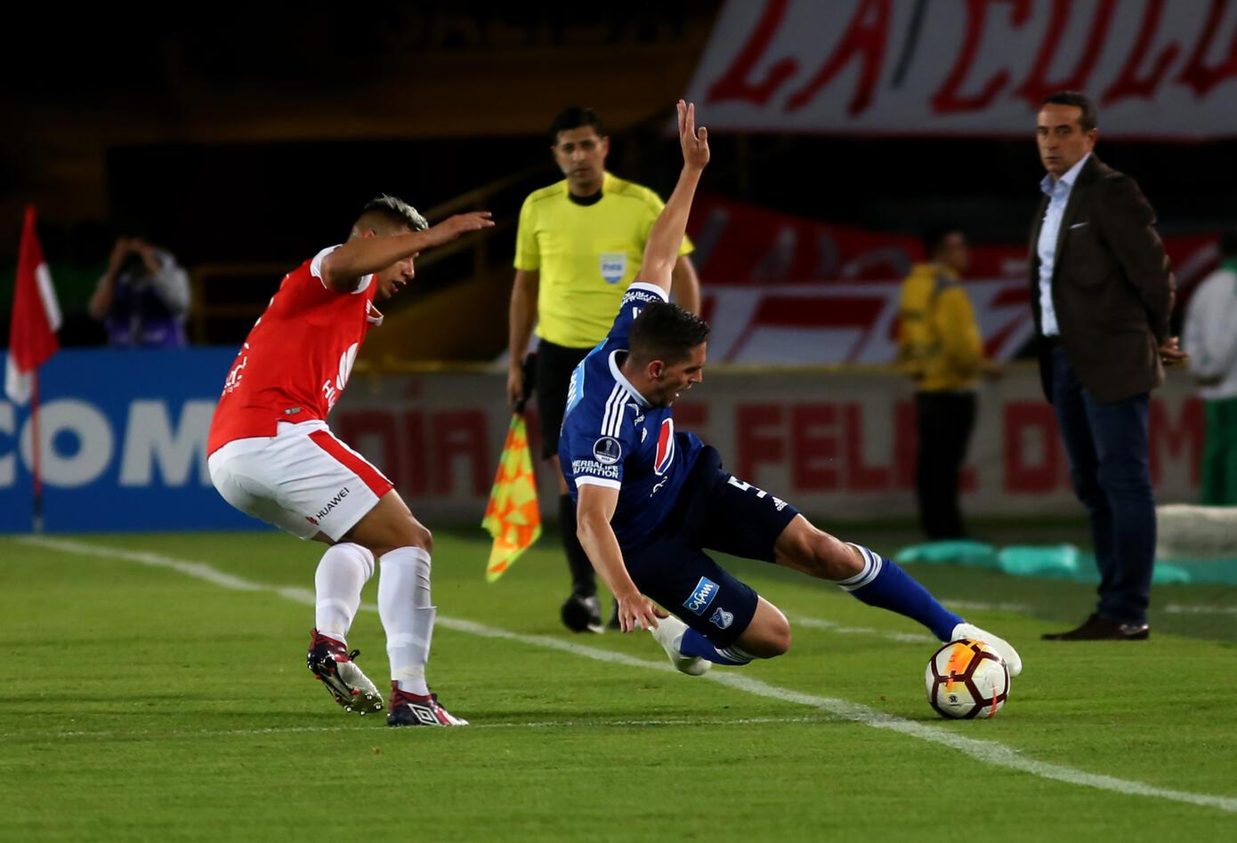 Santa Fe Vs Millonarios · Copa Sudamericana 2018