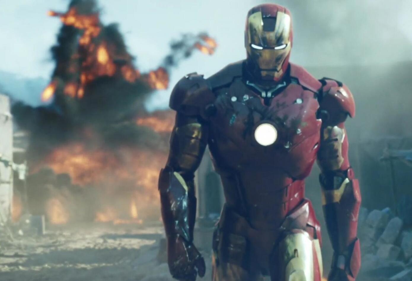 Iron Man: El hombre de hierro (2008)