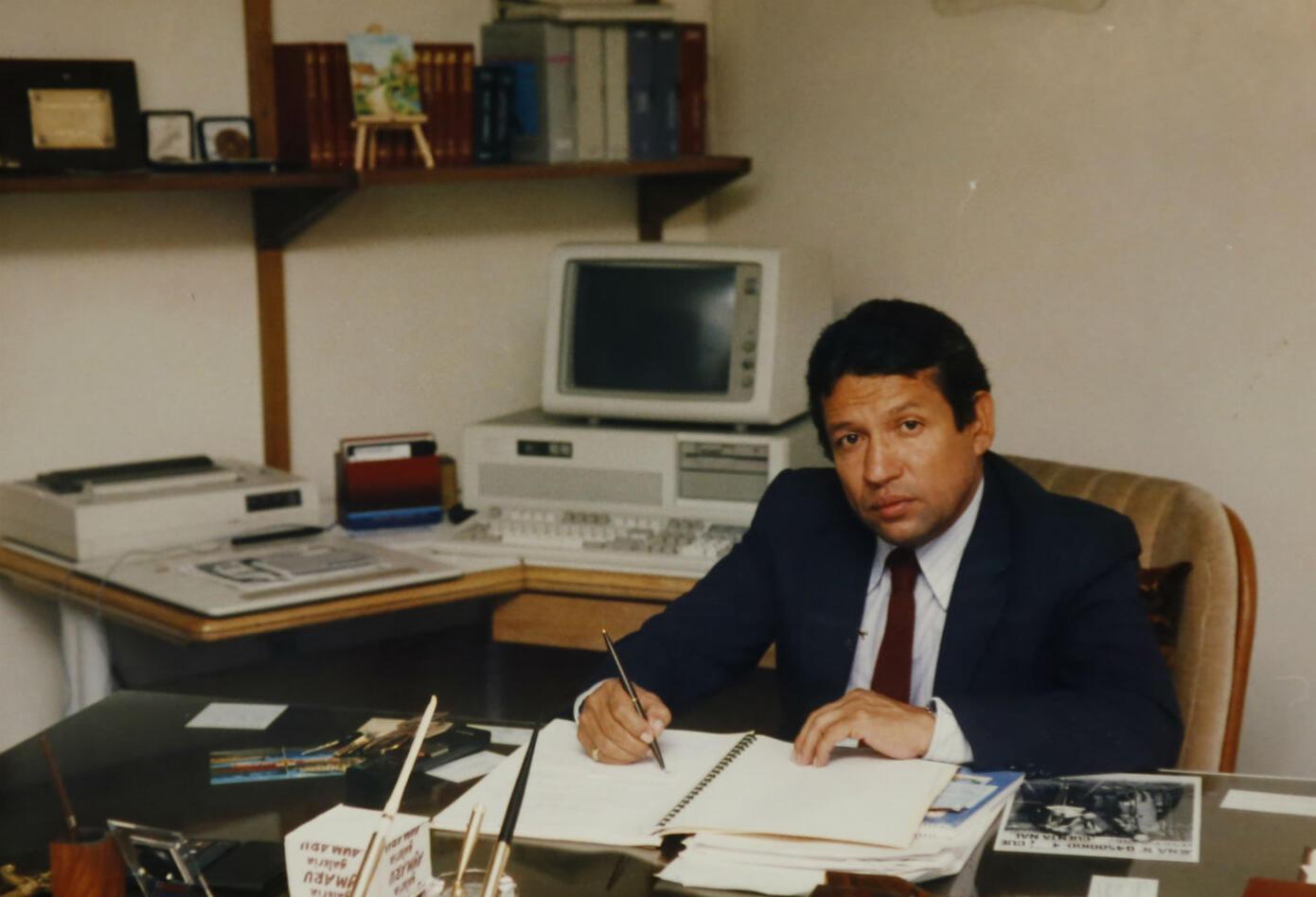 El periodista Jorge Enrique Pulido el 29 de octubre de 1989 fue asesinado cerca de las instalaciones de Inravisión.