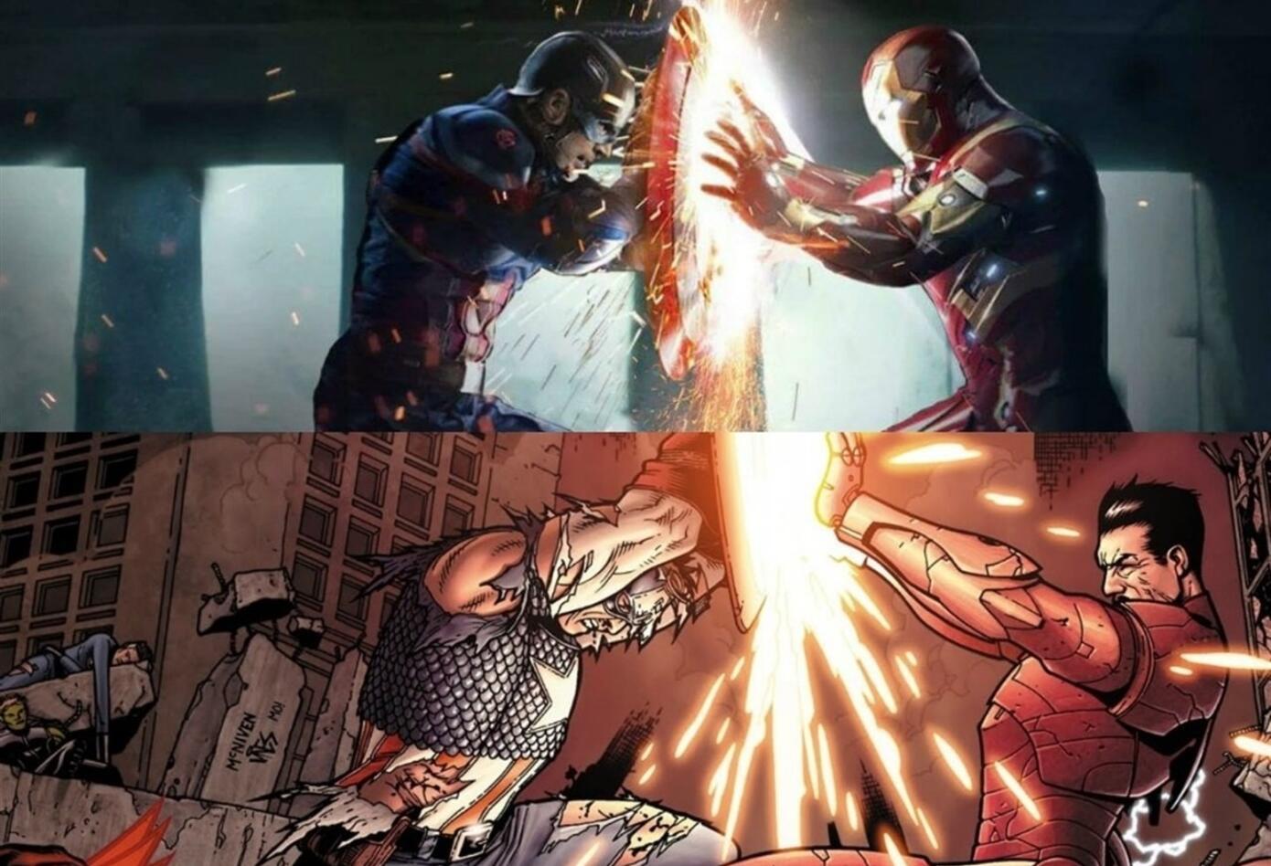 Capitán América: Civil War (2016)