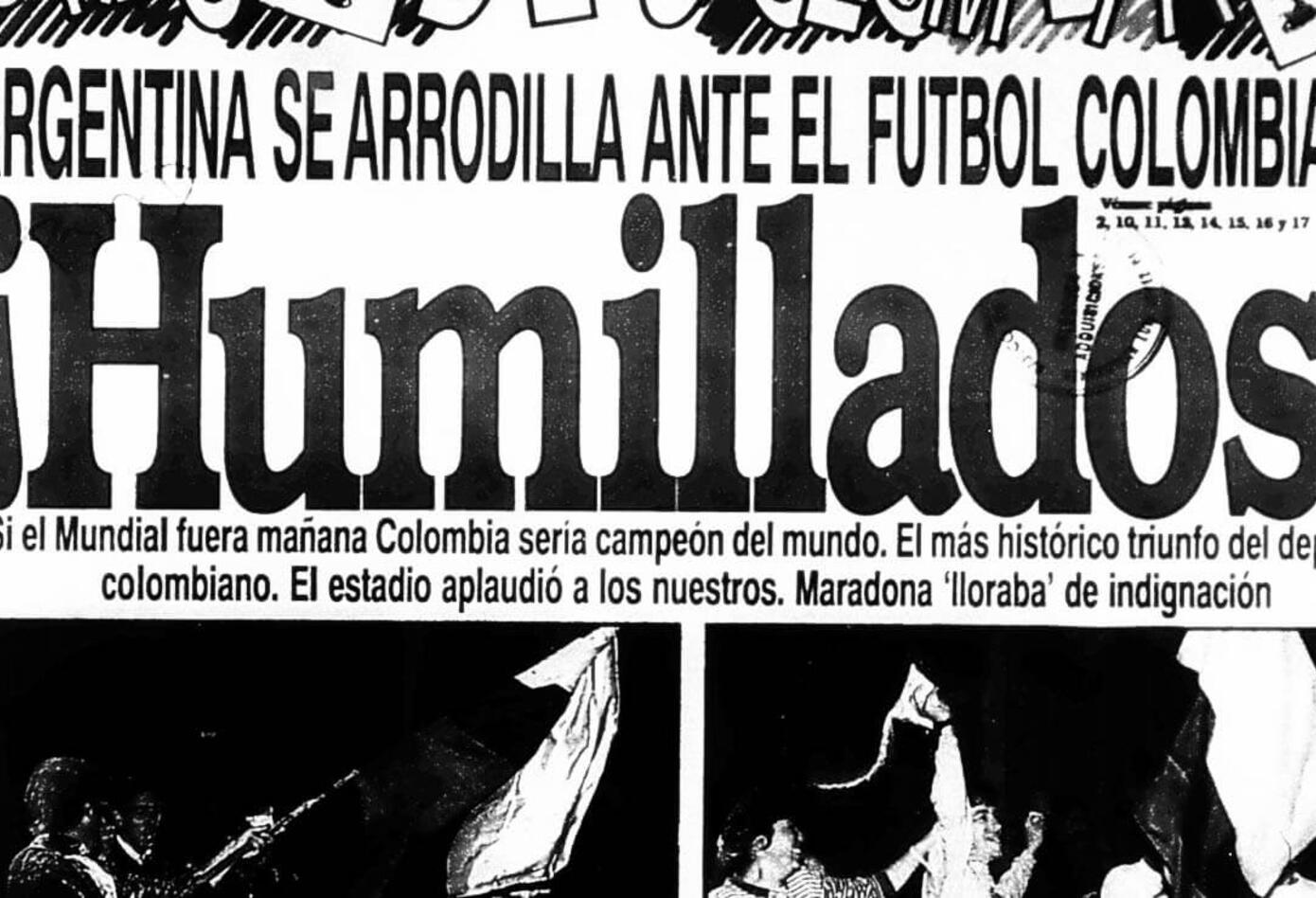 Portada del diario El Espacio el 6 de septiembre de 1993