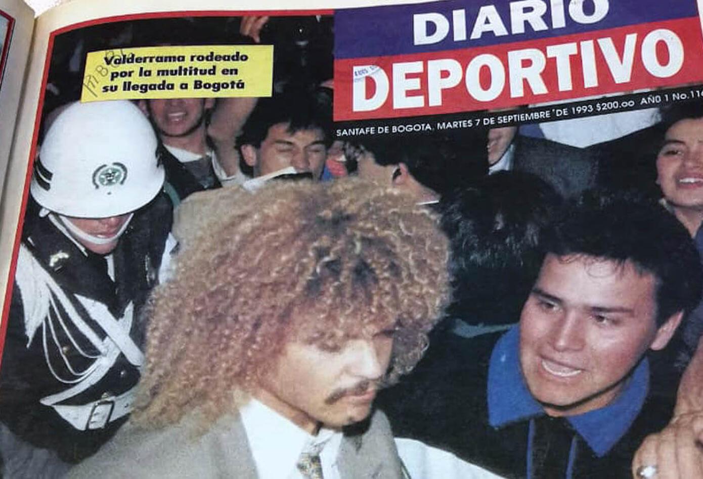 Portada del Diario Deportivo el 7 de septiembre de 1993
