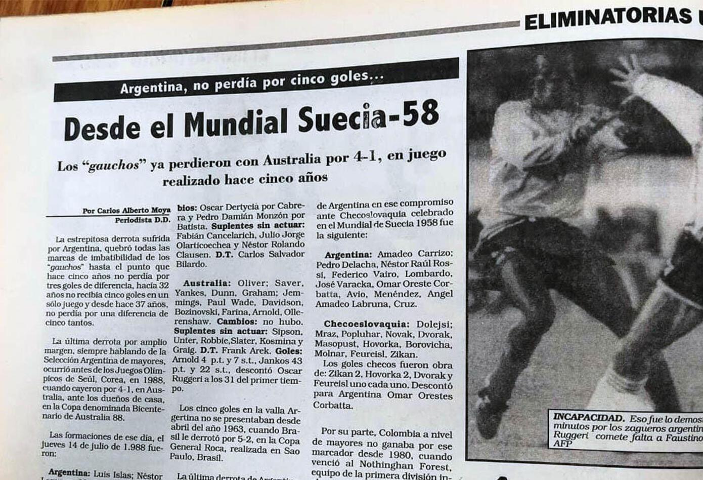 El Diario Deportivo y las reacciones por el triunfo de Colombia ante Argentina 5-0
