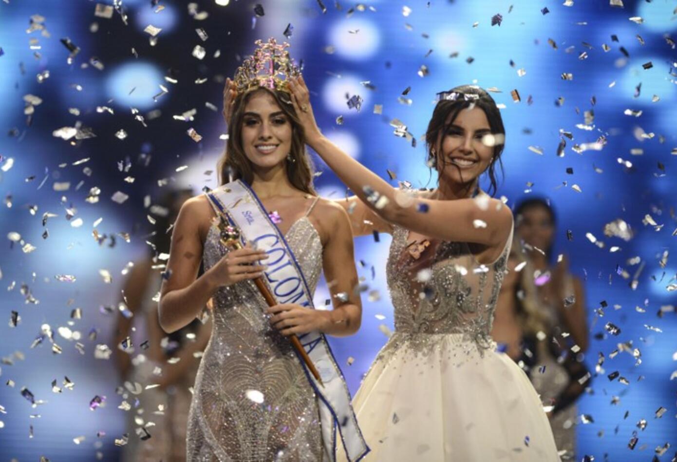 Miss Valle del Cauca fue coronada por Laura González, virreina universal