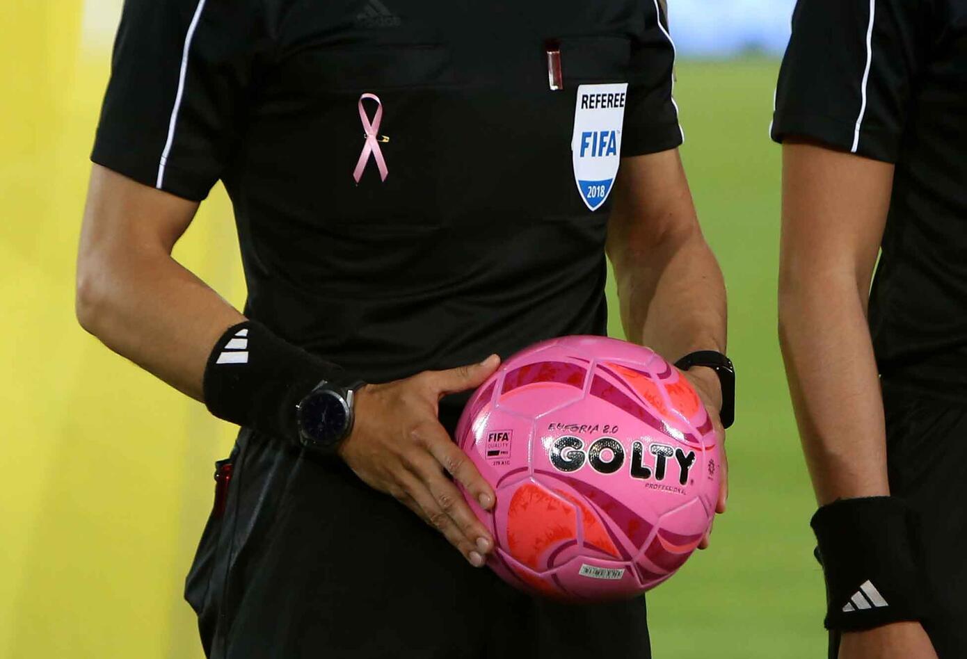 Santa Fe Vs Equidad también hizo parte del Día Mundial contra el Cáncer de Mama