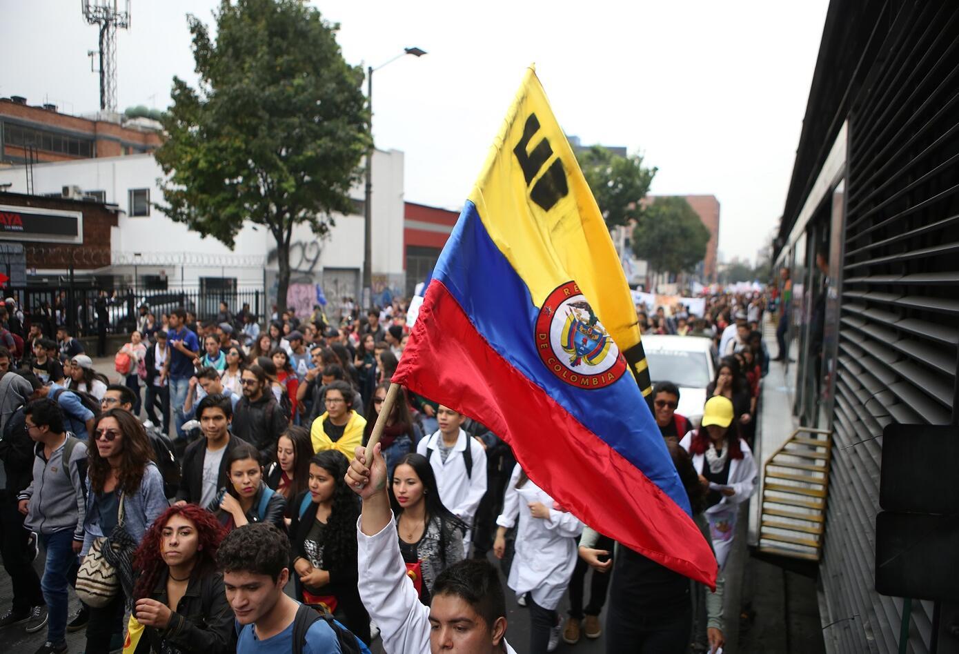 Las cuatro marchas iniciaron aproximadamente a las ocho de la mañana en distintos puntos de la capital.