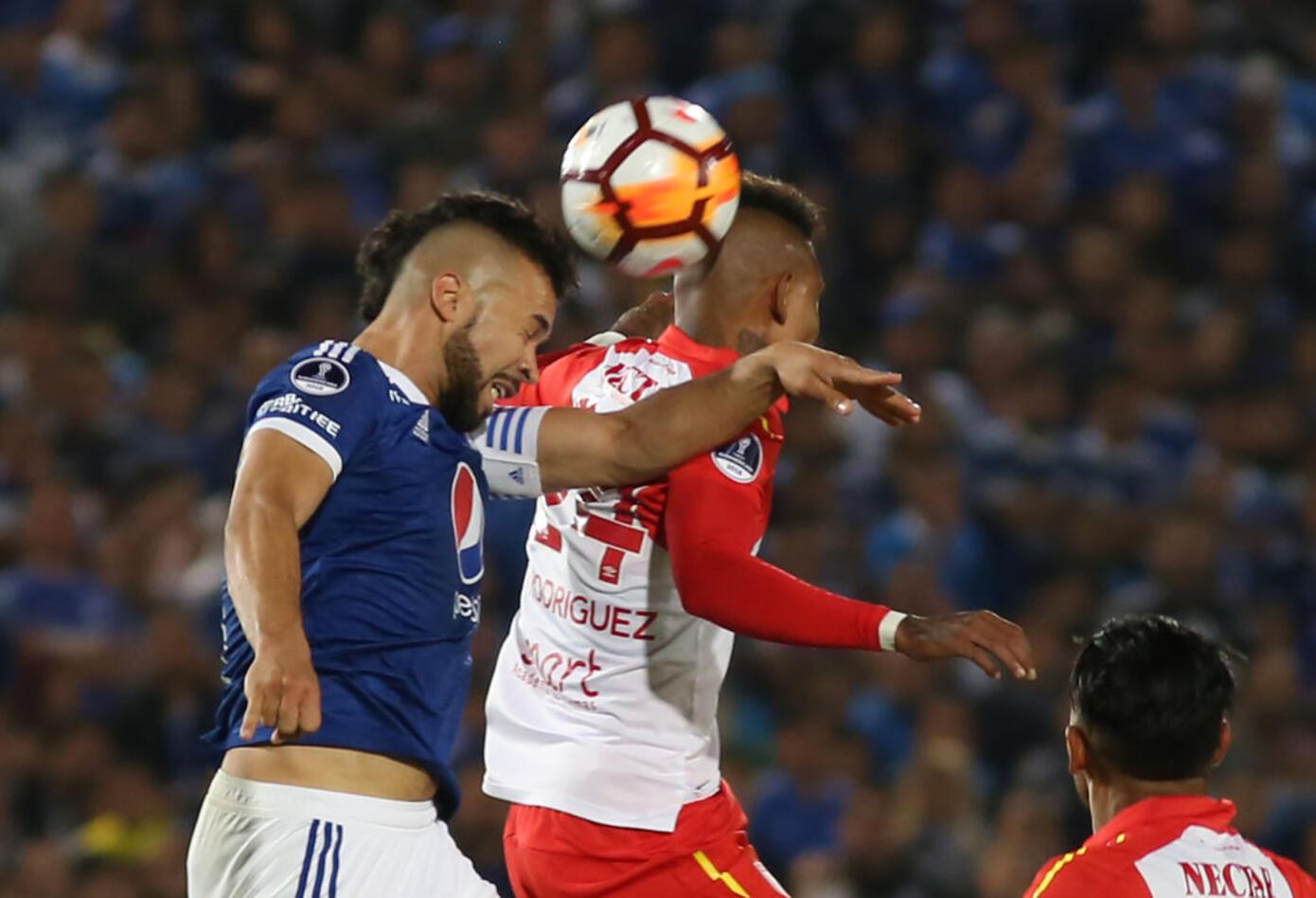 Millonarios y Santa Fe llegaron al partido de vuelta, tras haber perdido en la Liga· Copa Sudamericana 2018