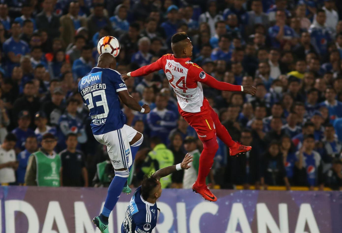 Santa Fe llegó con múltiples bajas al partido de vuelta ante Millonarios · Copa Sudamericana 2018
