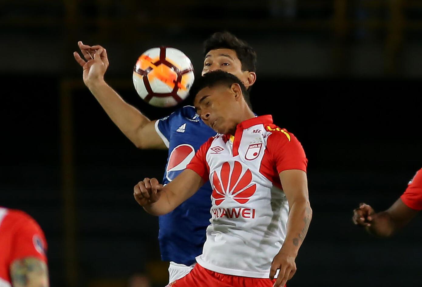 Millonarios no tuvo claridad ante el arco de Santa Fe en el primer tiempo · Copa Sudamericana 2018