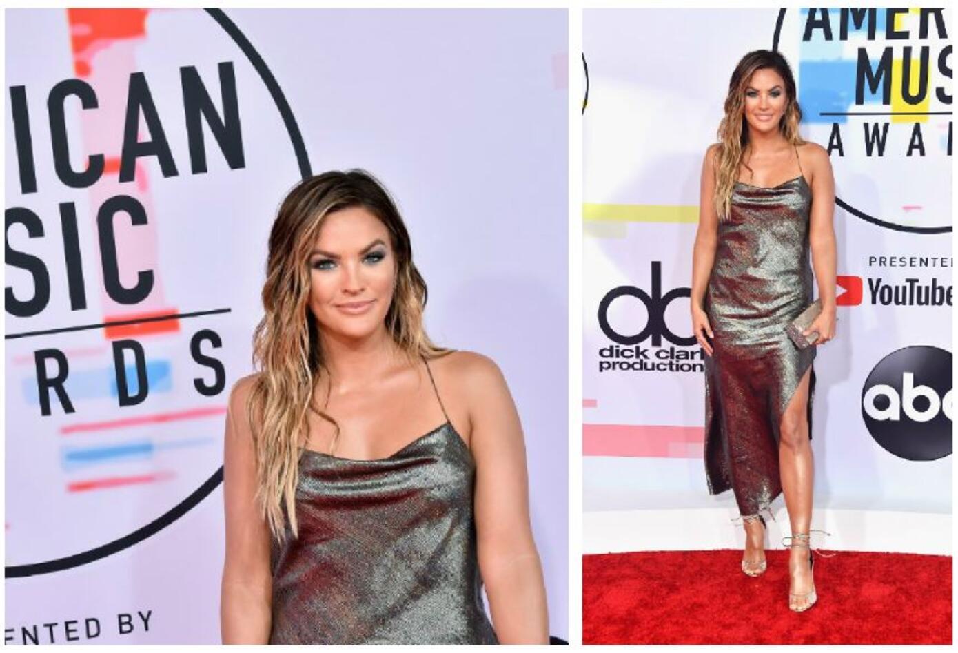 Becca Tilley en los American Music Awards