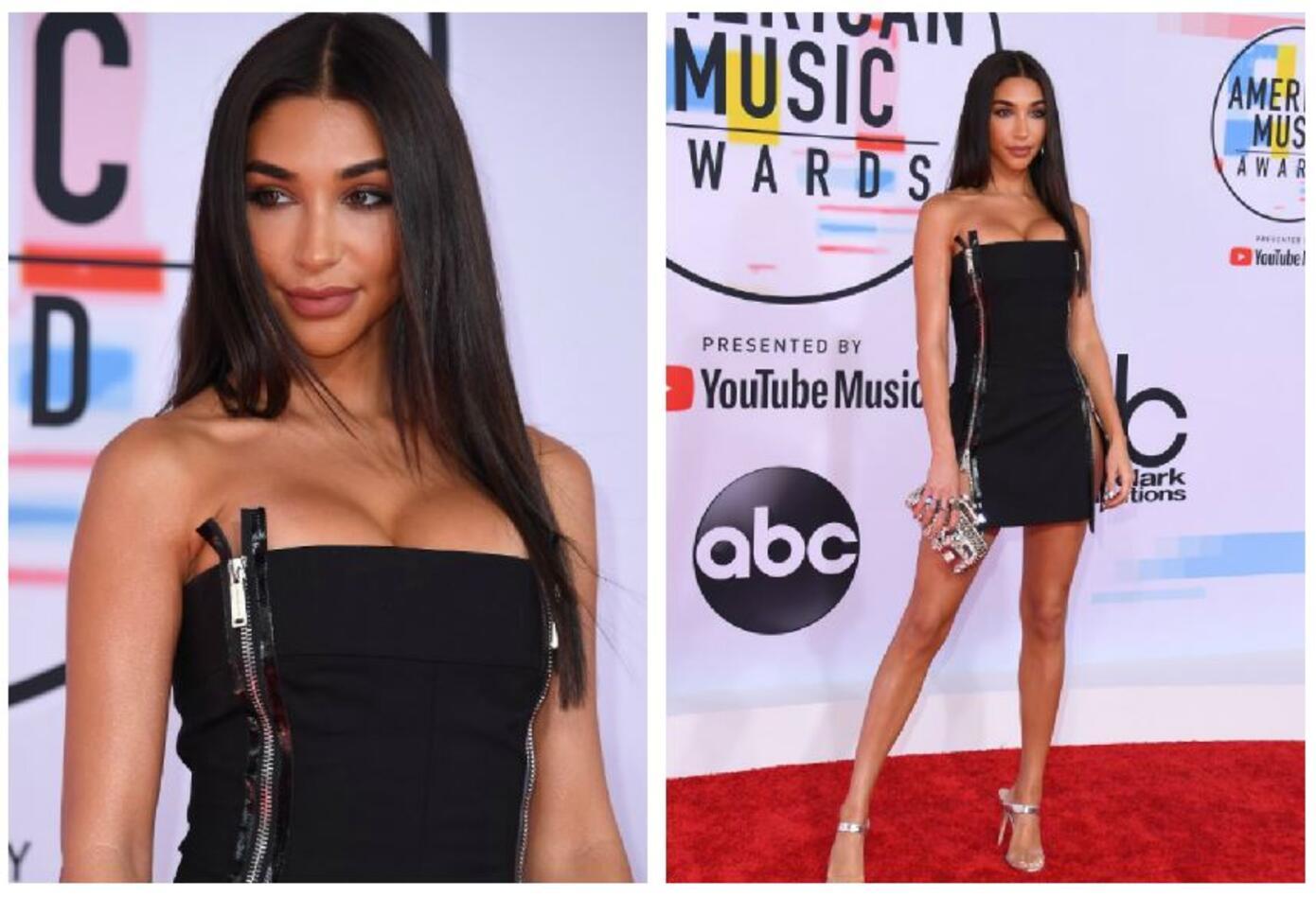 Chantel Jeffries en los American Music Awards