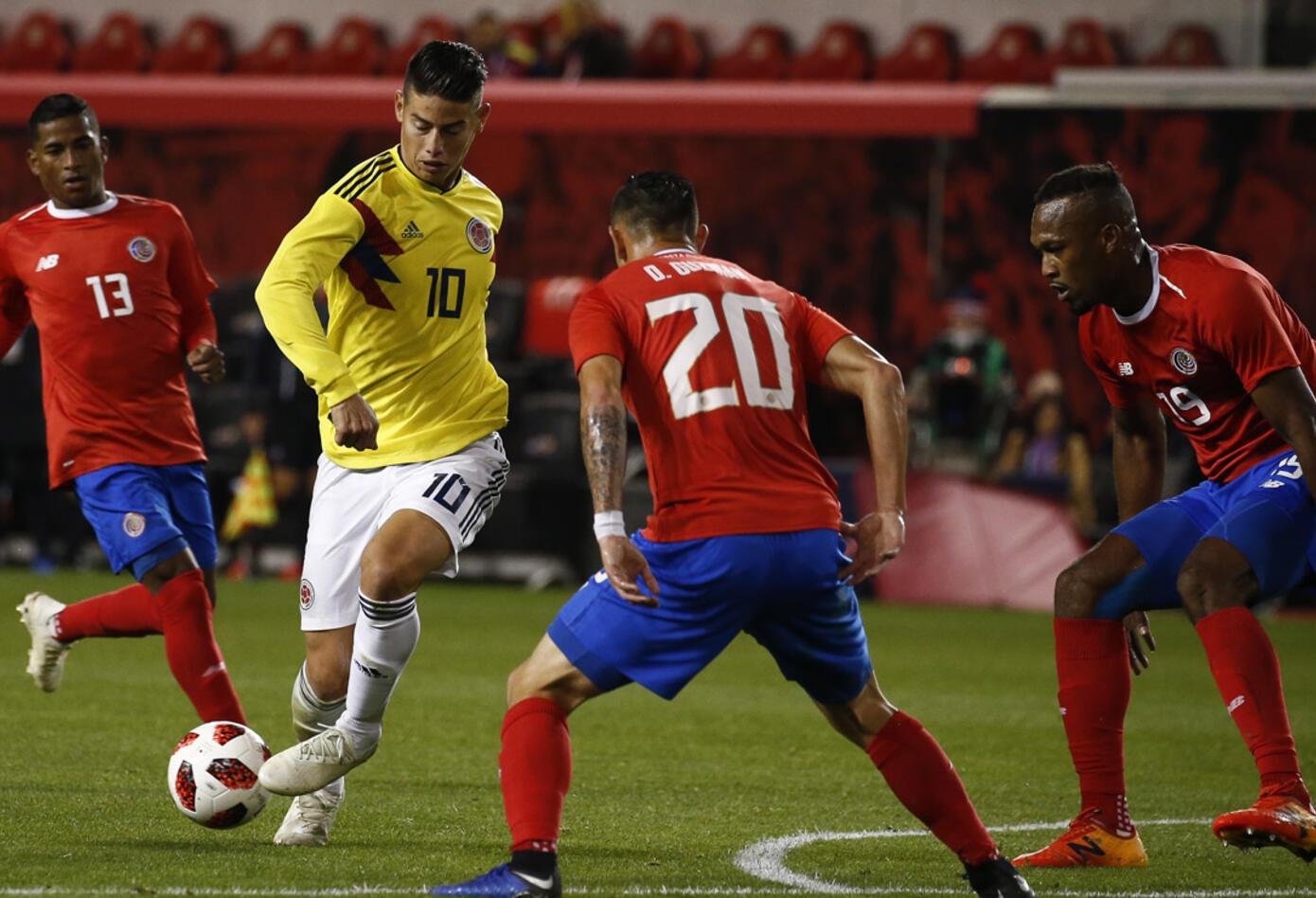 James Rodríguez - Colombia vs Costa Rica