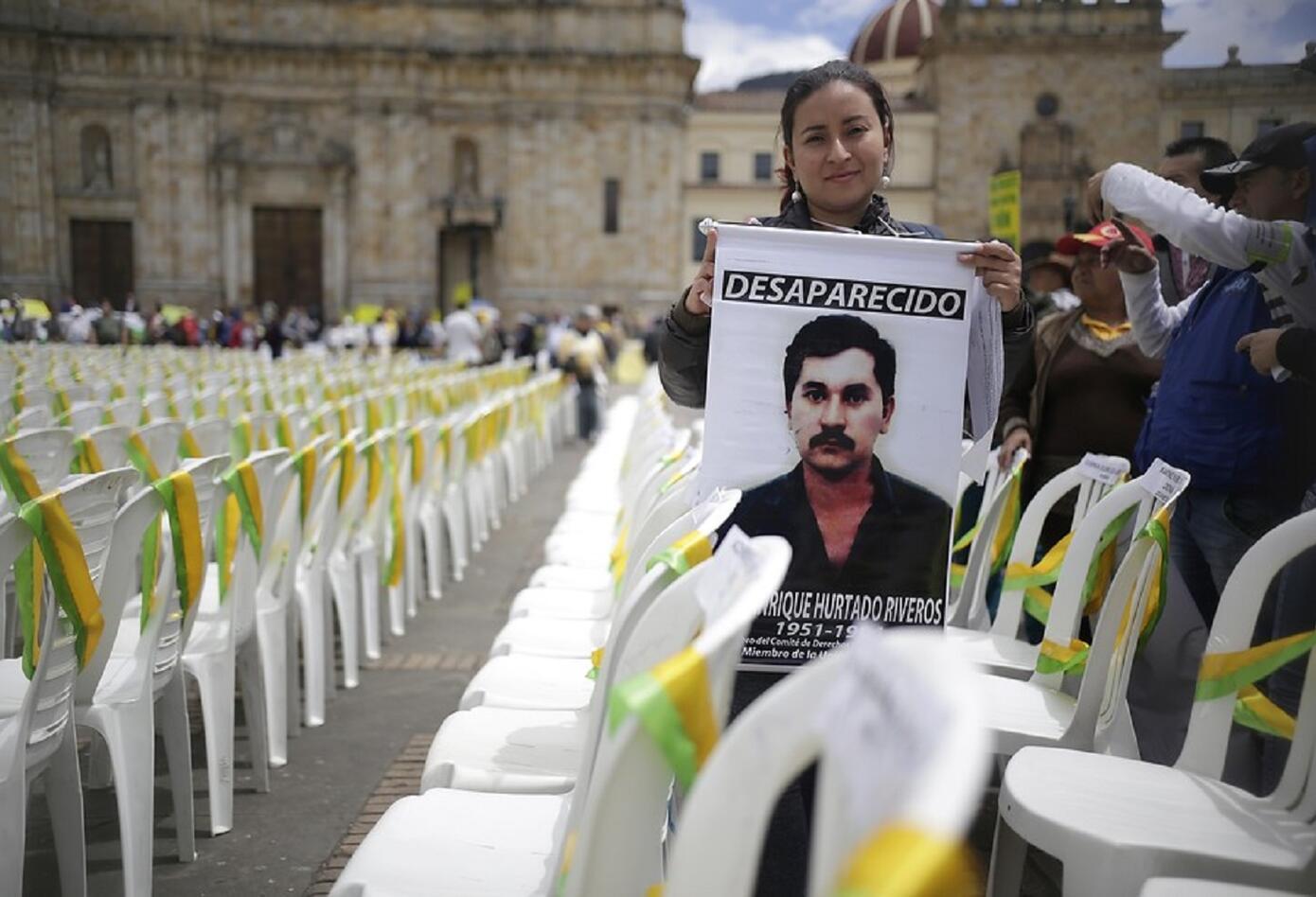 Aida Avella, integrante del extinto partido le pidió al Estado que el genocidio de la UP no se vuelva a repetir con los líderes sociales.