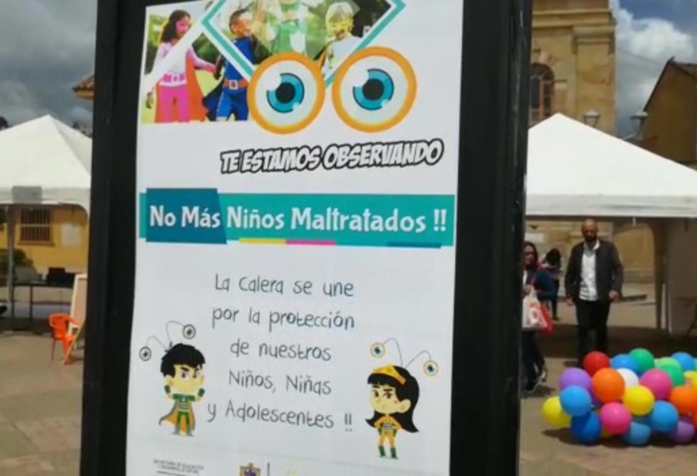 Campaña en La Calera para proteger a los niños 2