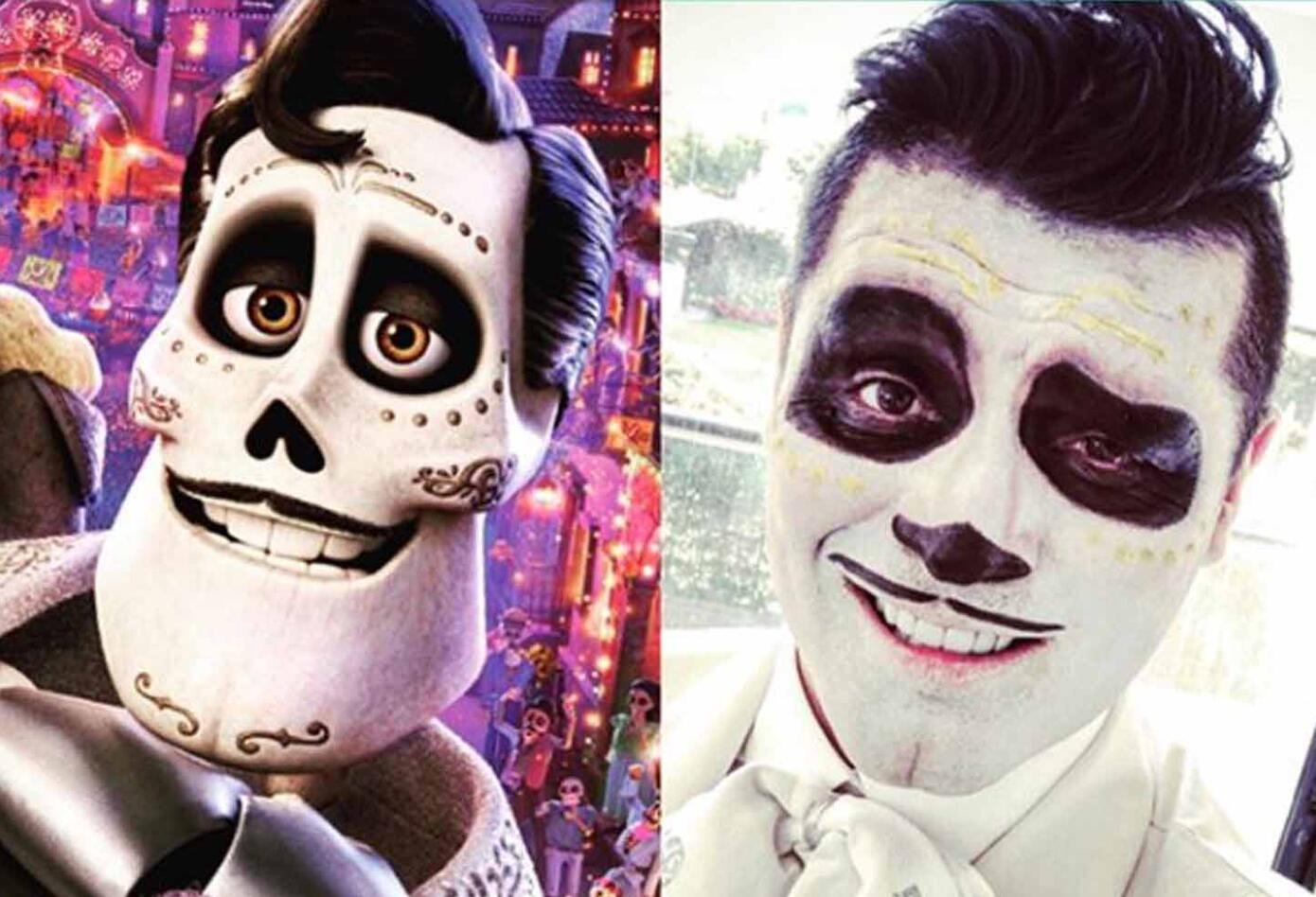 Hassam se destaca por representar distintos personajes en su profesión. Sin embargo, este Halloween decidió darle vida a uno de los personajes de la película 'Coco'.