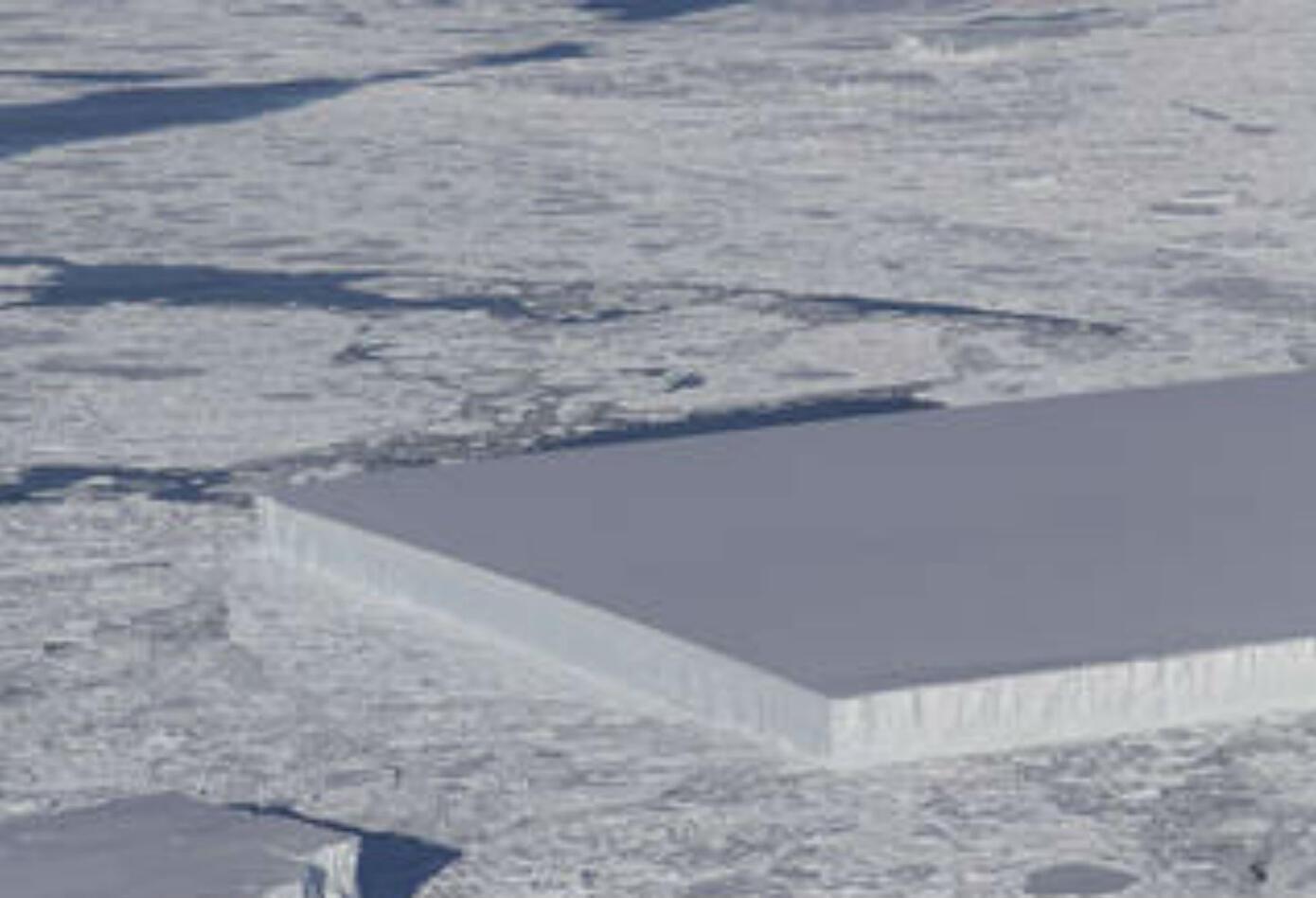 El descubrimiento se produjo durante uno de los vuelos realizados por la denominada Operación IceBridge el pasado 16 de octubre