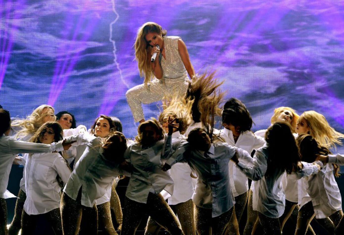 Jennifer López en los American Music Awards