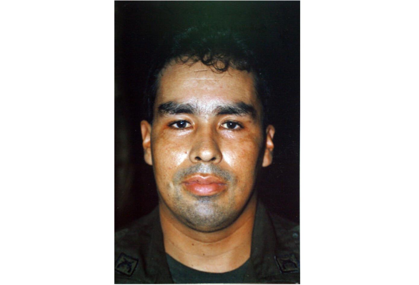 El intendente Luis Hernando Peña Bonilla antes de ser secuestrado en la toma de Mitú.