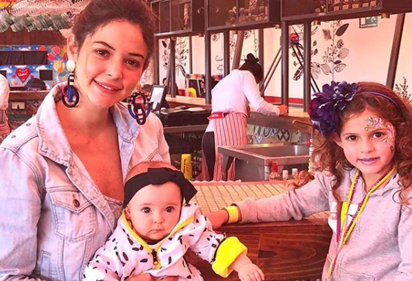 La youtuber es madre de Guadalupe y de Macarena, ambas hijas del deportista Tatán Mejía. Macarena cumplió diez meses en octubre.
