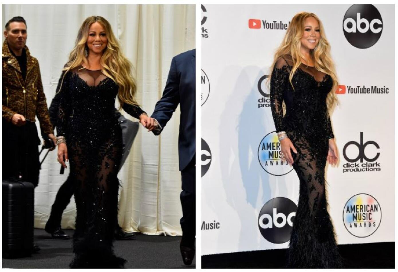 Mariah Carey en los American Music Awards