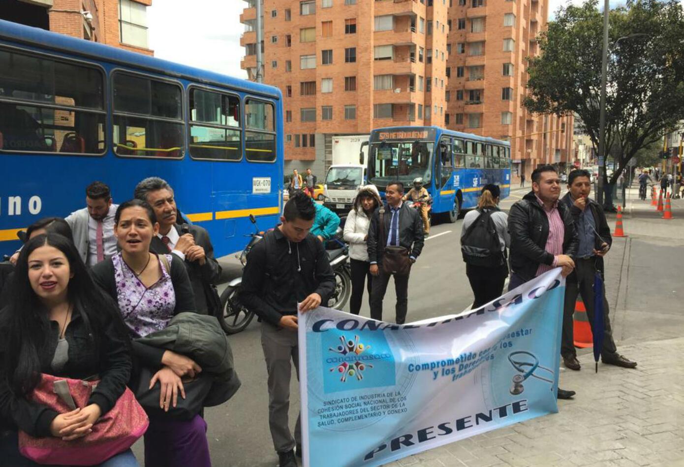 La protesta saldrá desde el Parque Nacional para realizar un gran plantón al frente del Ministerio de Salud