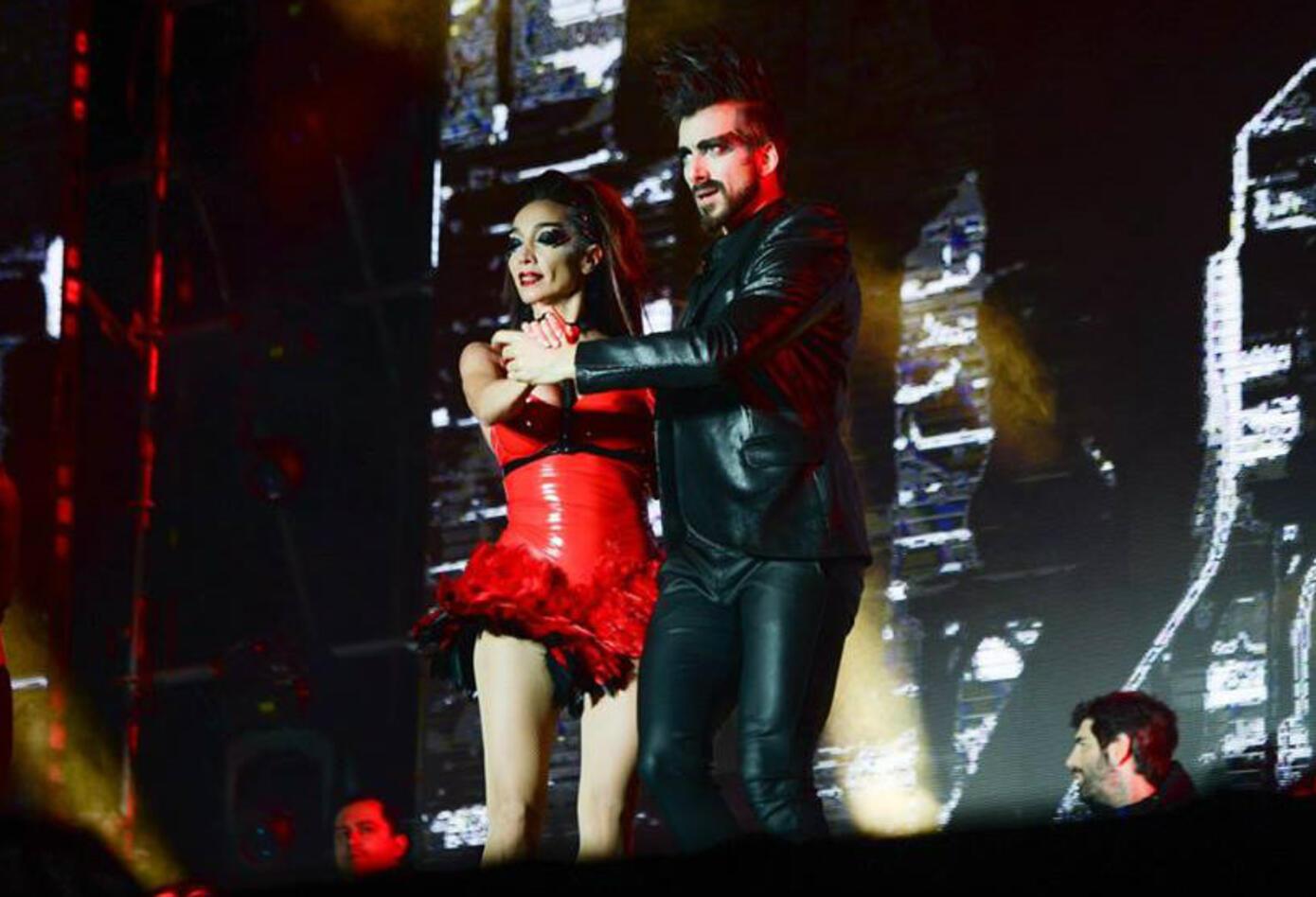 Puesta en escena de tango en la ceremonia inaugural de los Juegos Olímpicos de la Juventud 2018