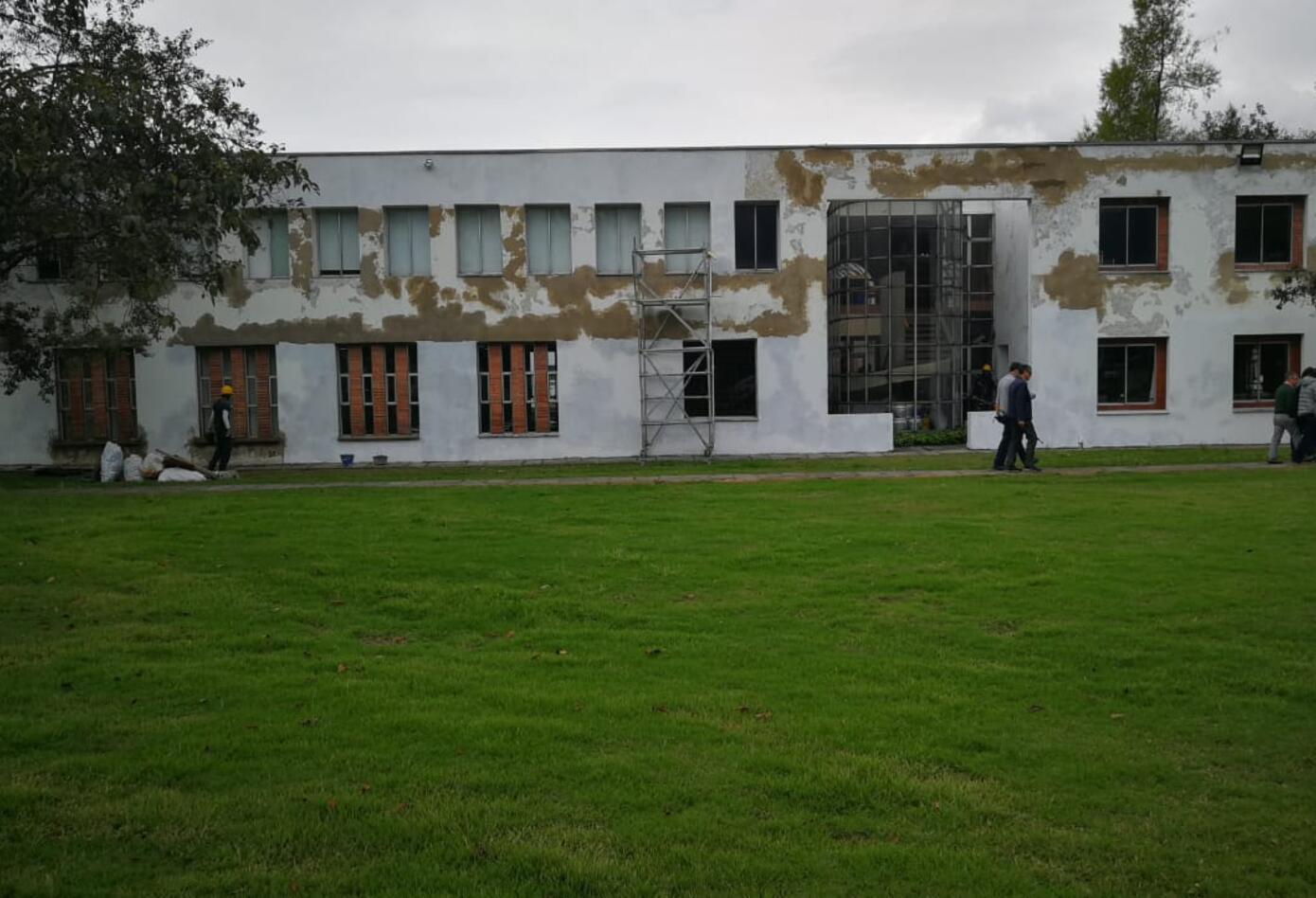 Edificio de Genética, Universidad Nacional