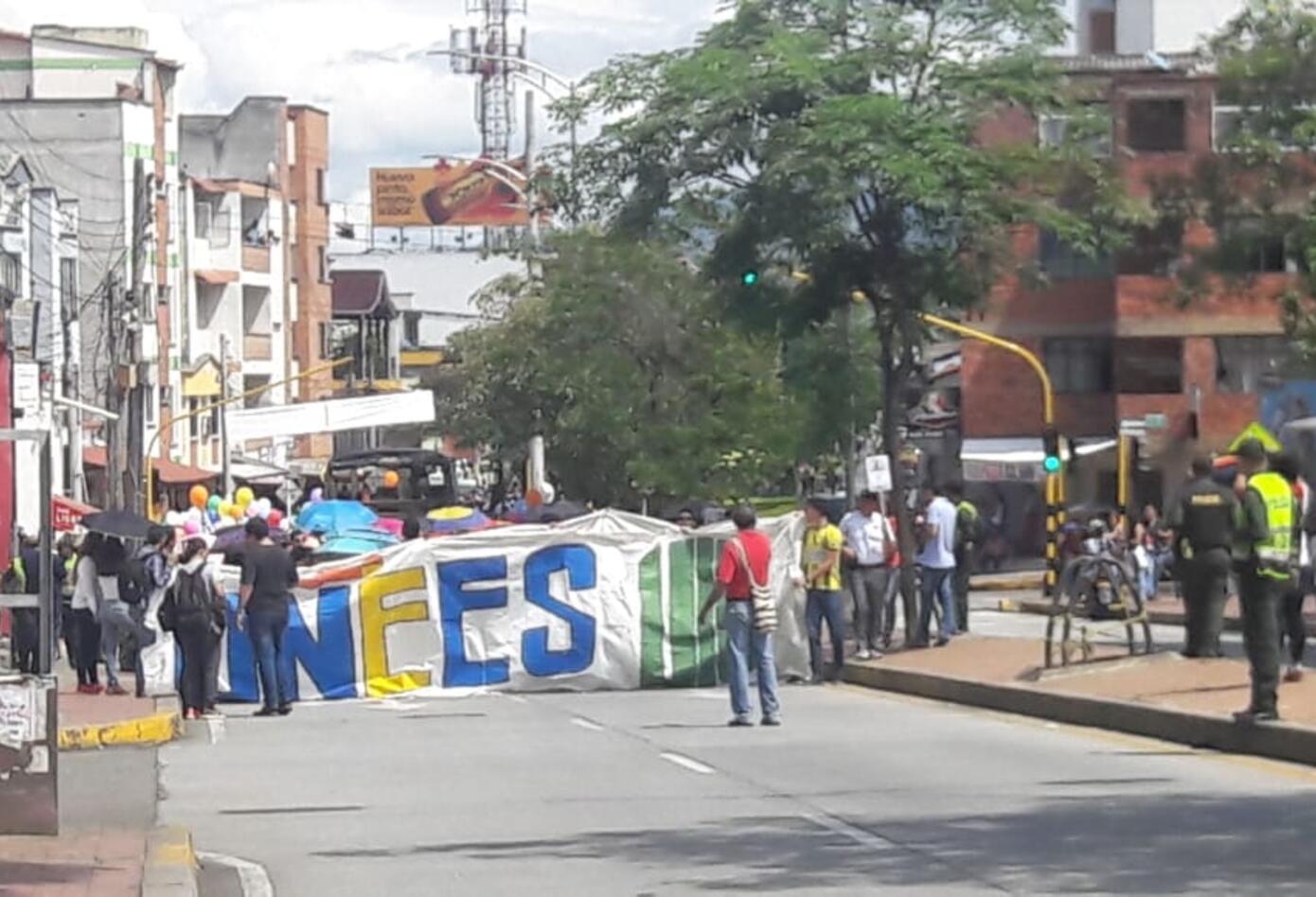 Movilizaciones estudiantiles en Bucaramanga