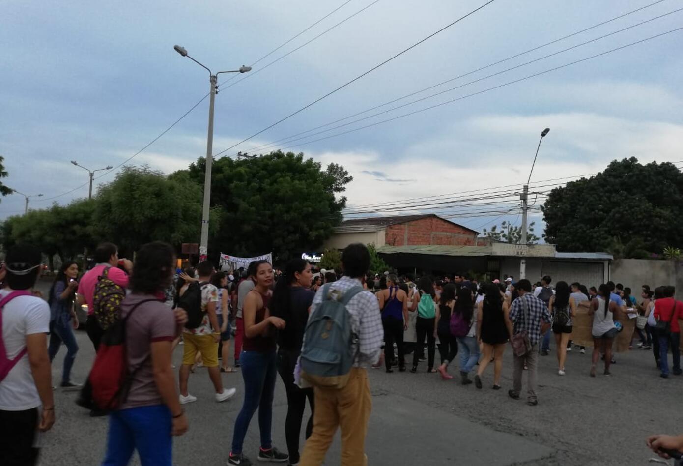Movilizaciones estudiantiles en Girardot
