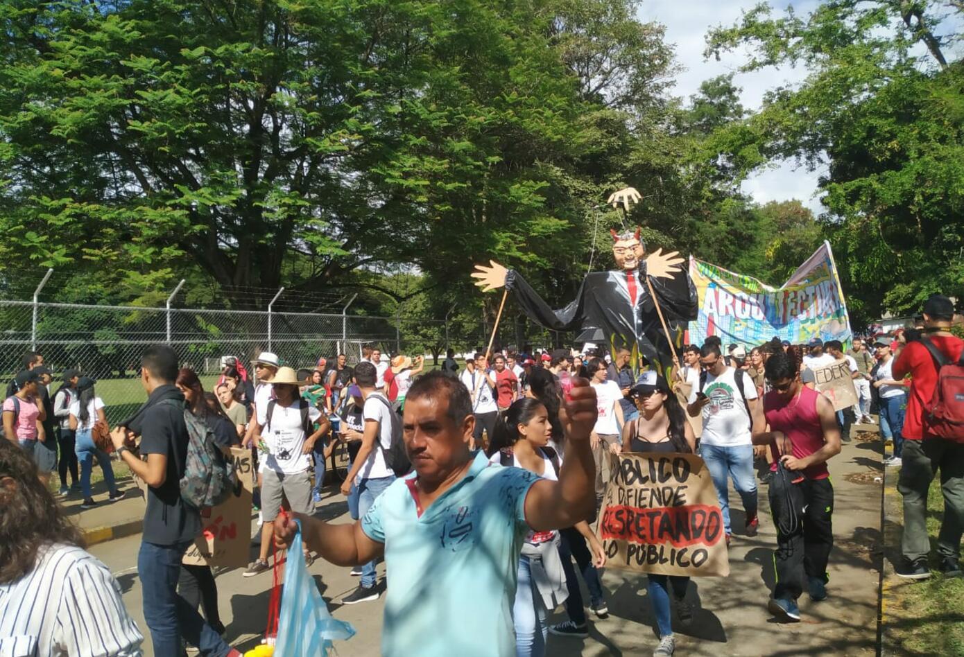 Movilizaciones estudiantiles en Cali