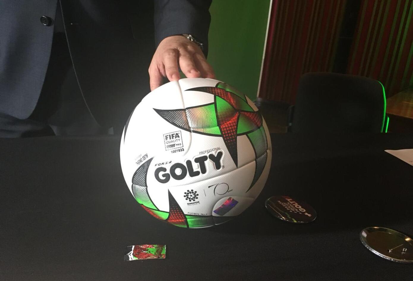 El balón Golty para la temporada 2019 en el fútbol profesional colombiano 3e0667f40e79e