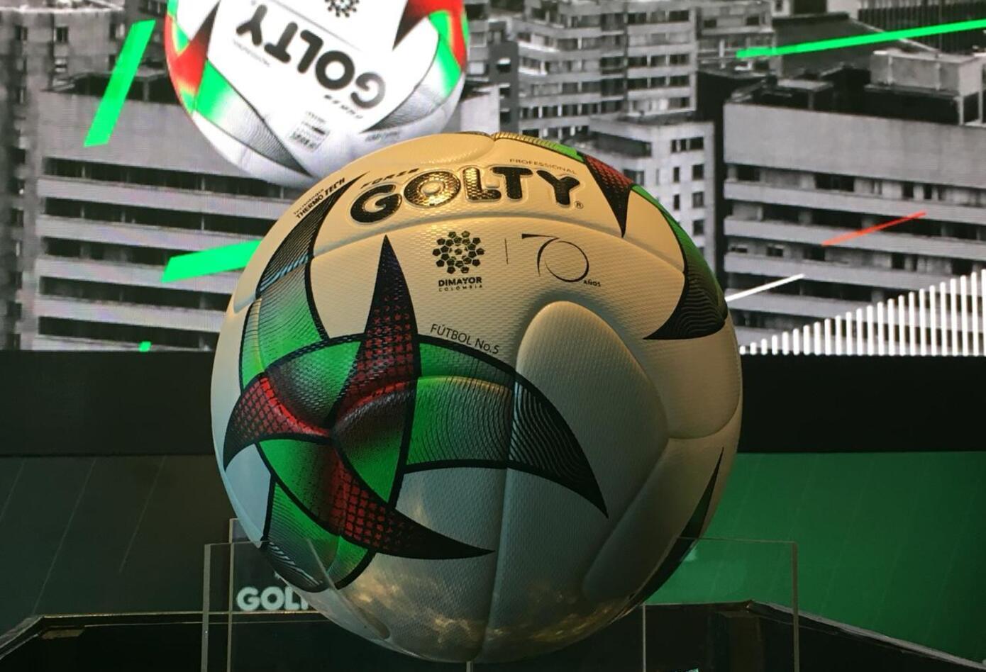 Golty presentó el balón con el que se jugará la Liga 7901bc14bf534