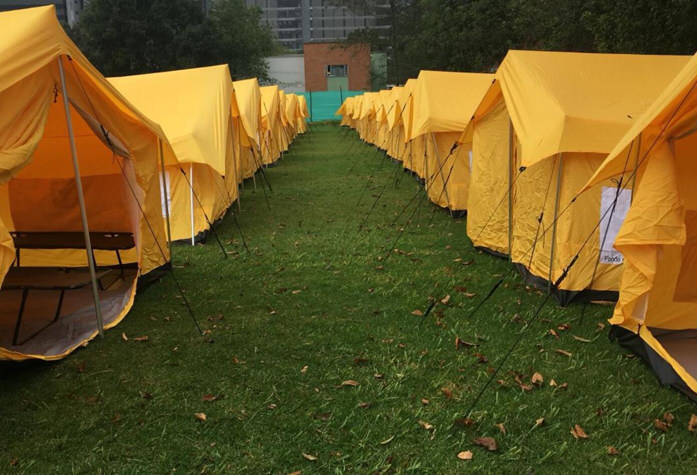 Centro humanitario de paso para venezolanos 2