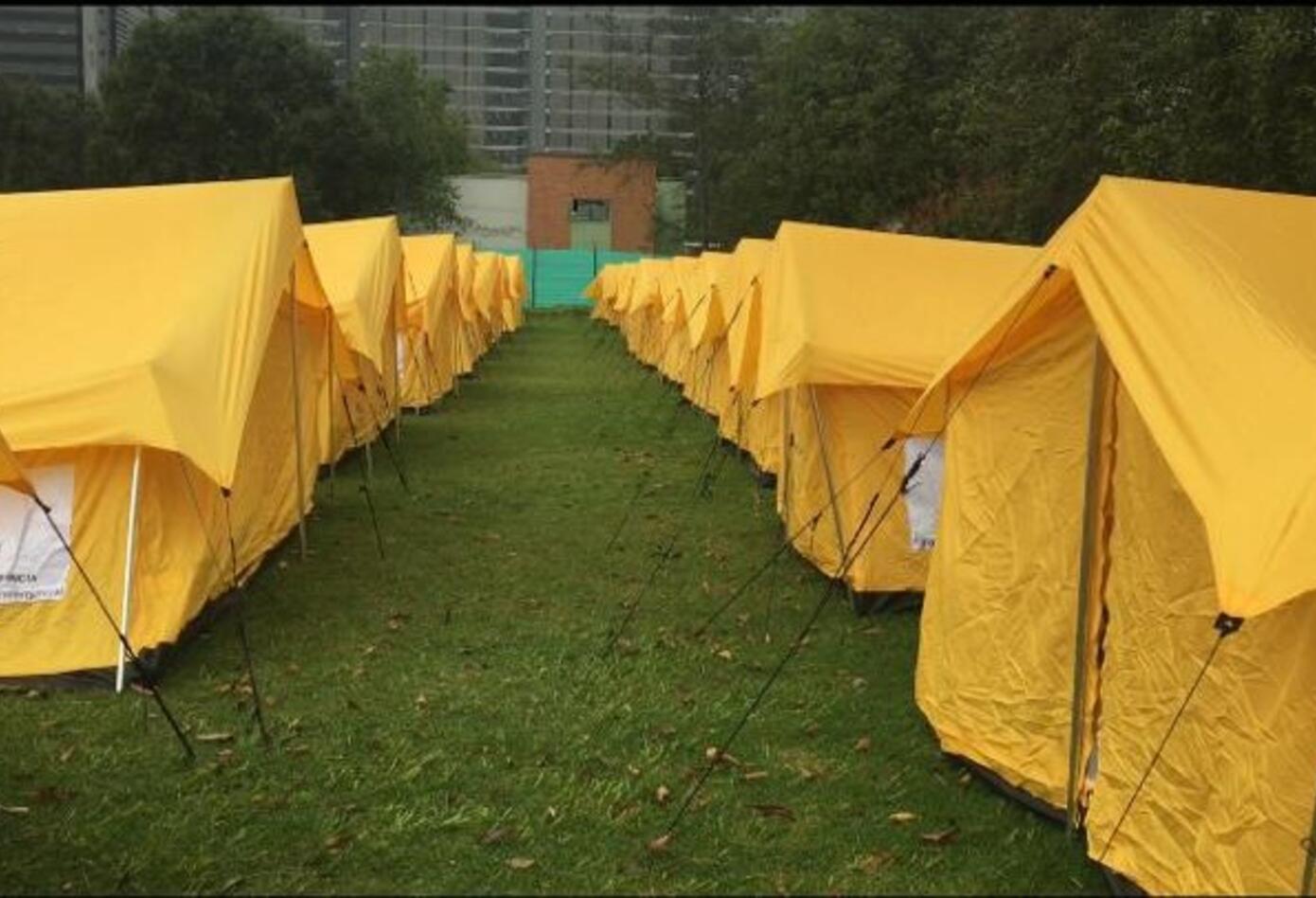 Centro humanitario de paso para venezolanos 1
