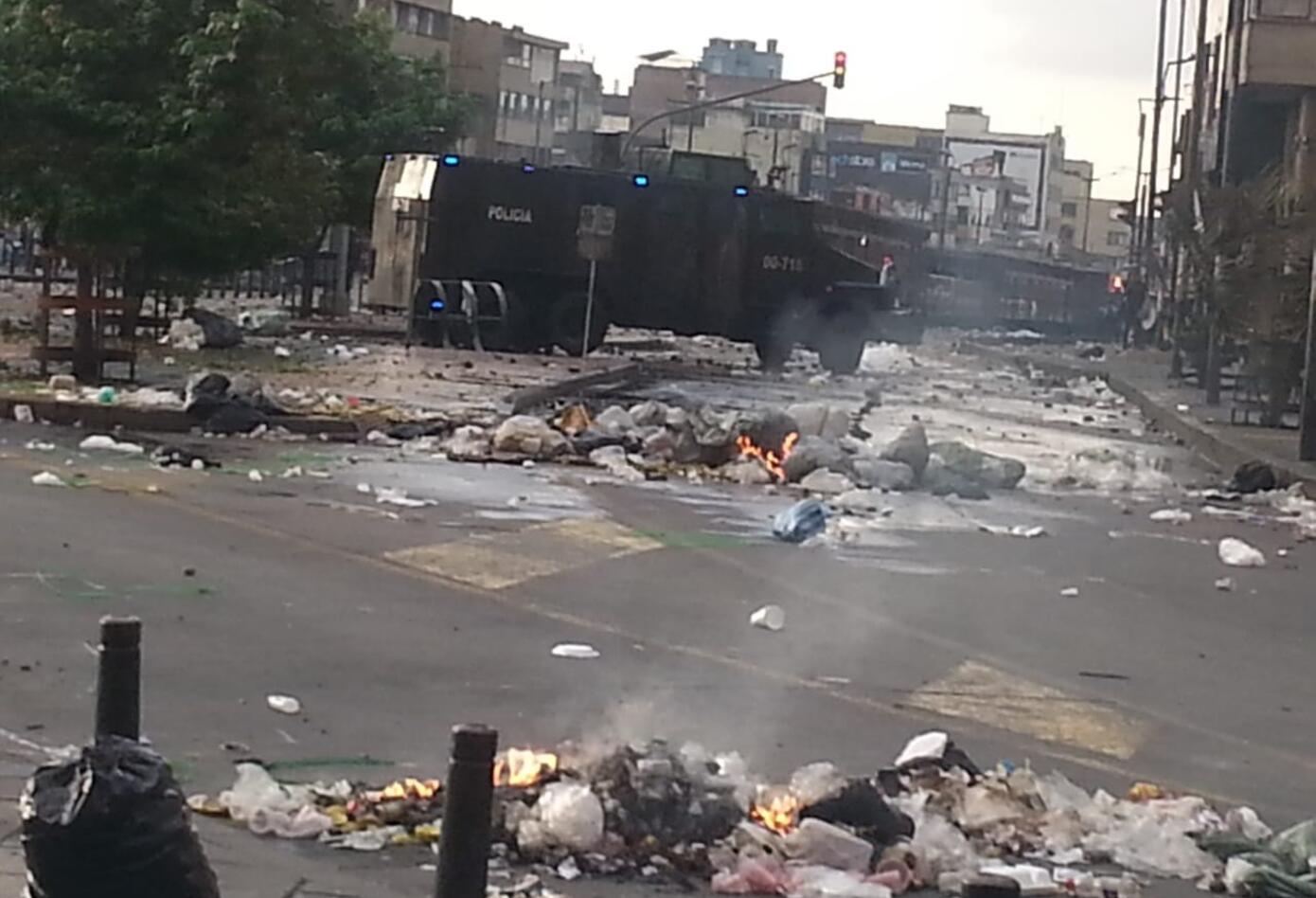Fotos de enfrentamientos