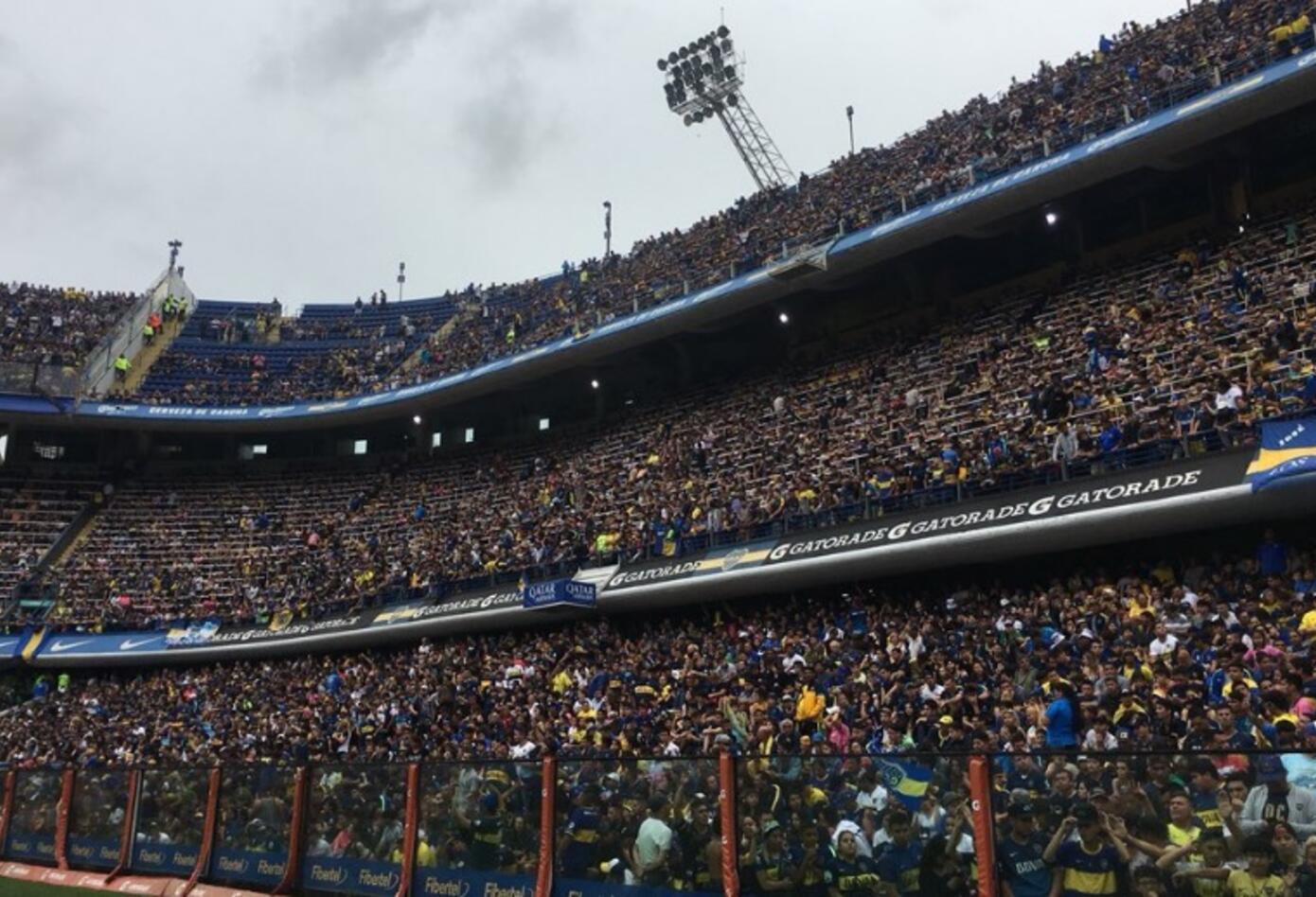 En solo dos horas estuvo lleno el estadio.