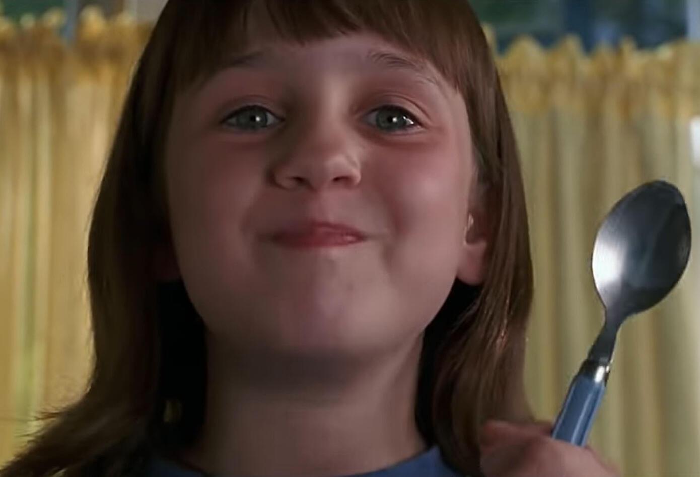 Matilda fue interpretada por Mara Wilson, quien actuó también en la cinta 'Papa por siempre'.