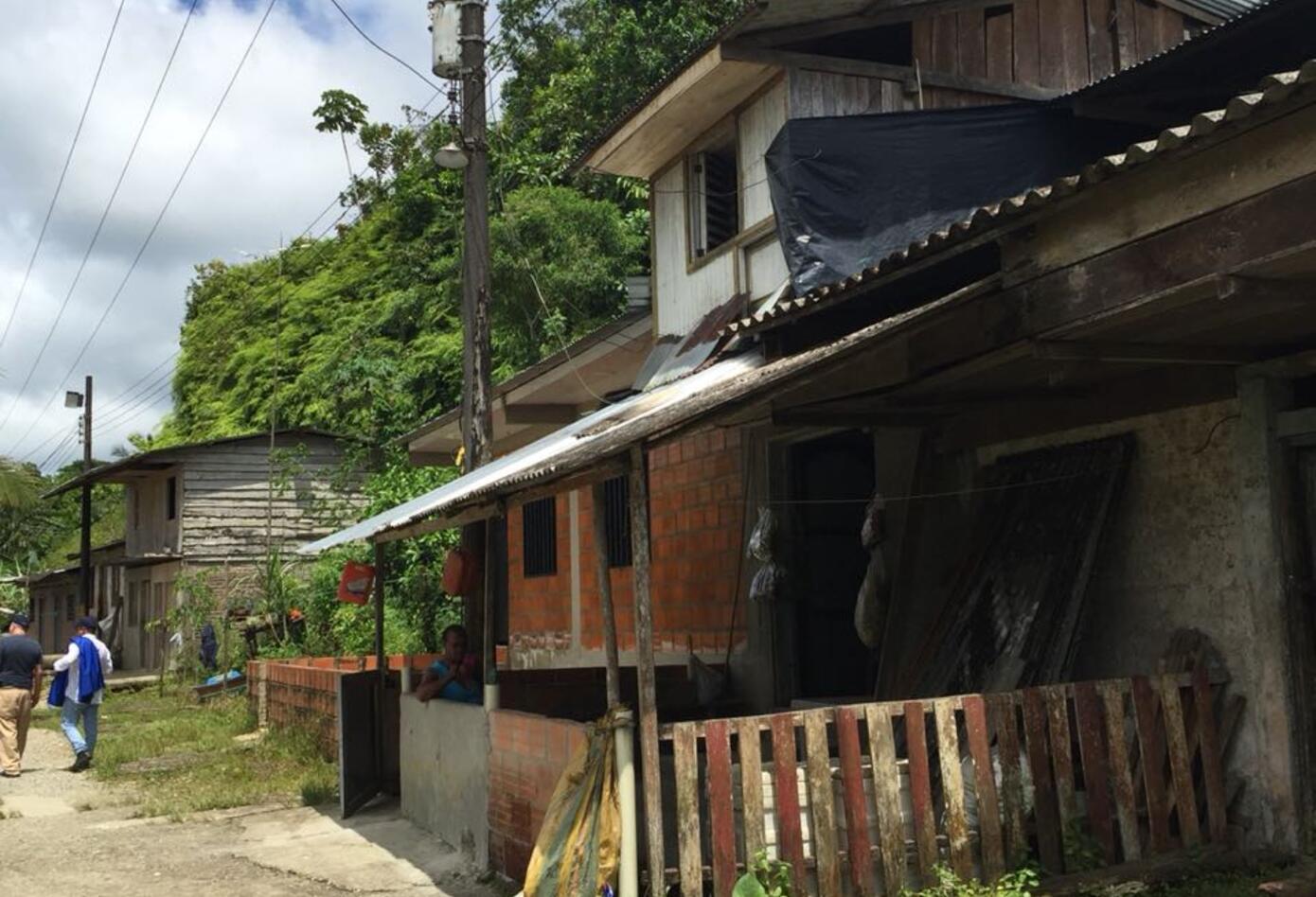 Calles de Puerto Merizalde, Valle del Cauca