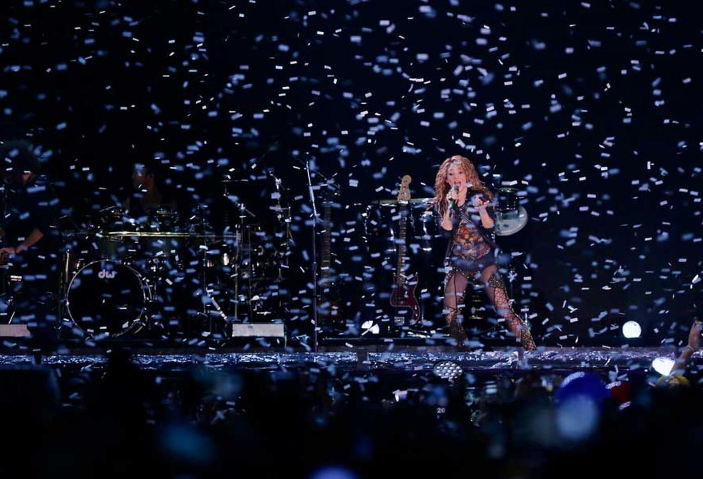 Concierto de Shakira en Bogotá