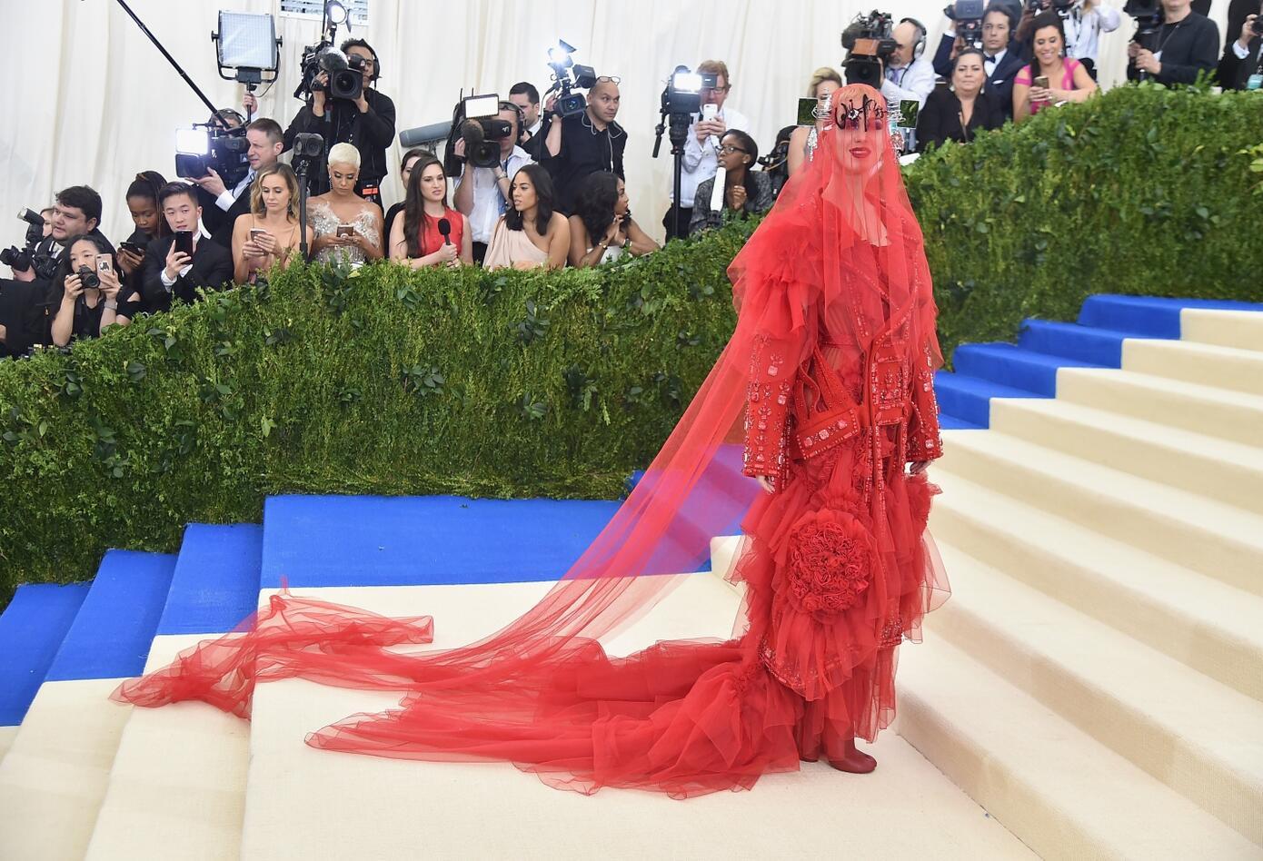 Vestidos extravagantes de las celebridades