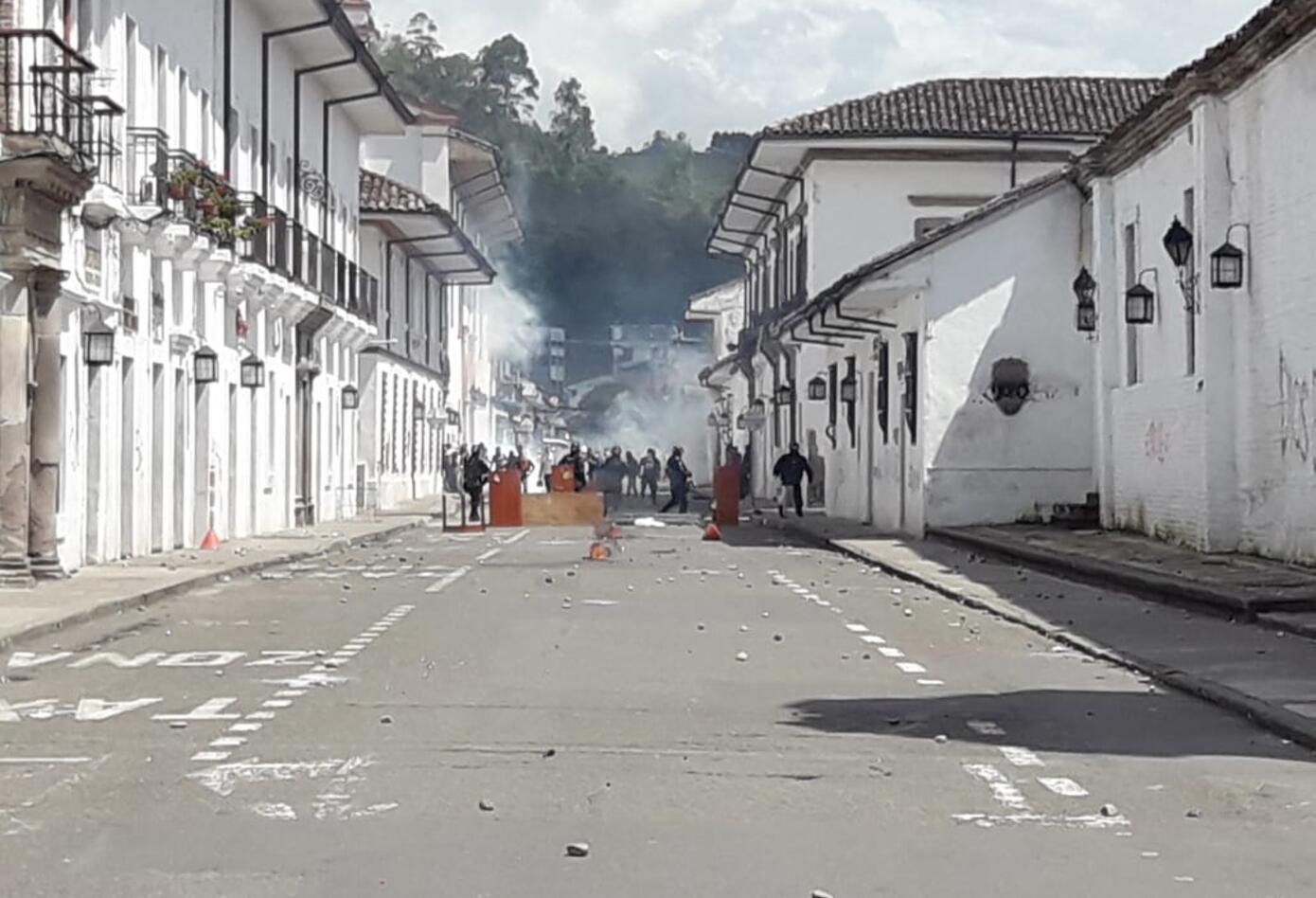 Disturbios en Popayán 2