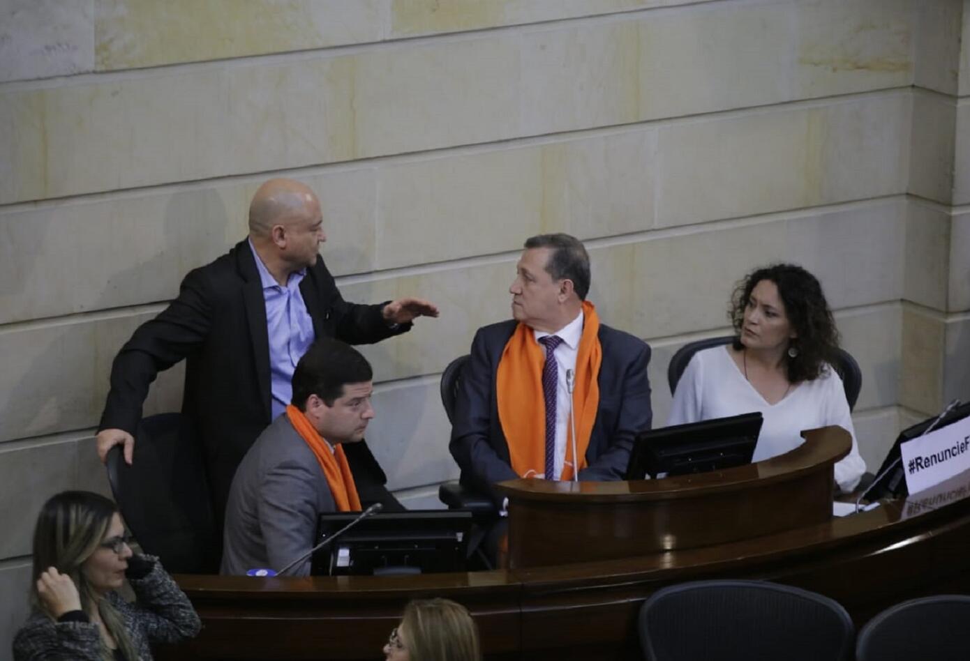 El presidente de Senado de la República Ernesto Macías