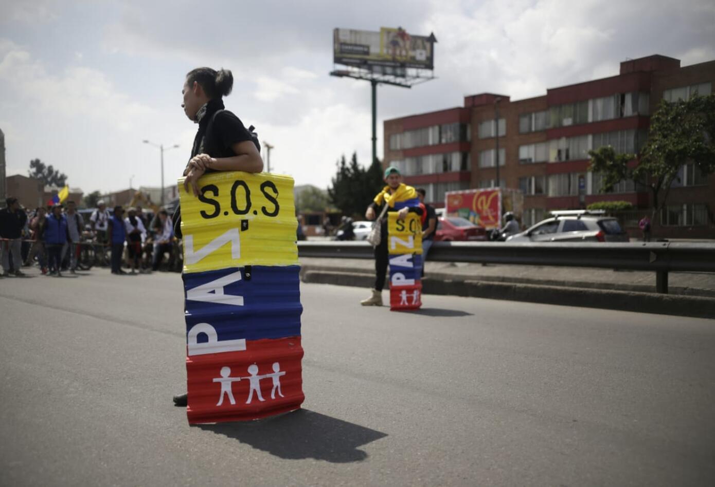 Marchas de los estudiantes universitarios en Bogotá 9