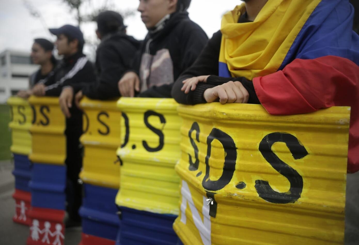 Estudiantes universitarios en Bogotá