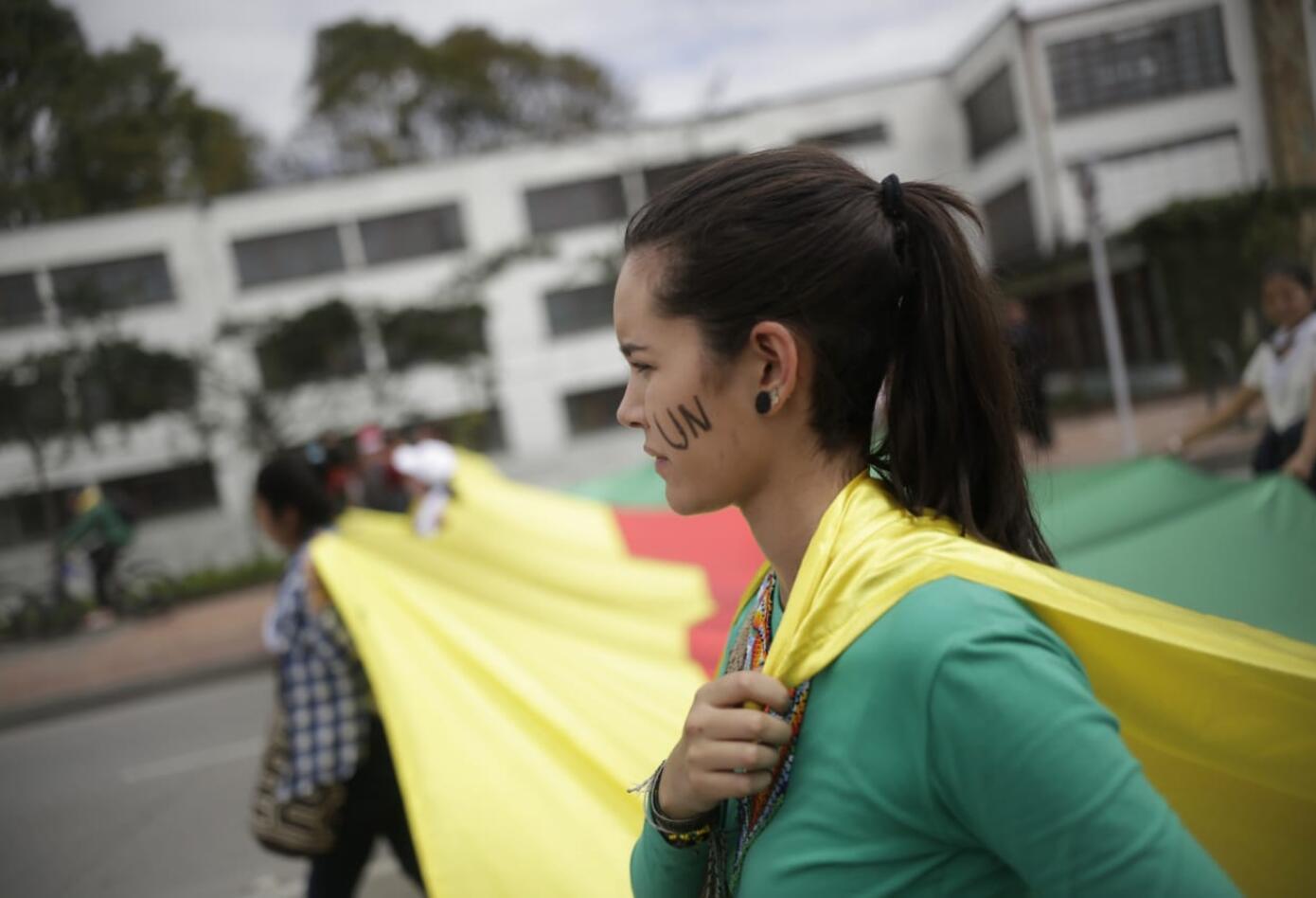 Marchas de los estudiantes universitarios en Bogotá 5