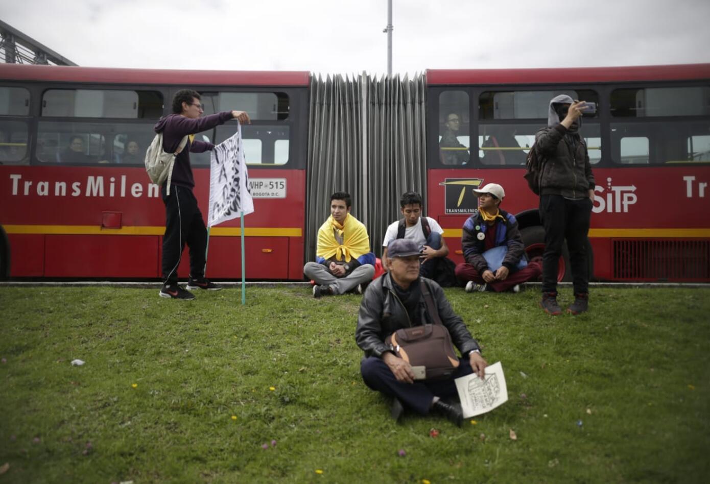 Marchas de los estudiantes universitarios en Bogotá 6